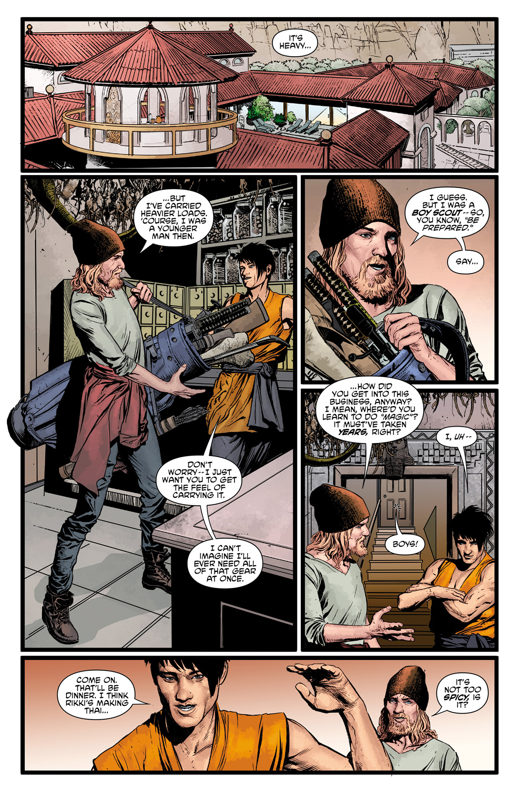 Read online King Tiger comic -  Issue #1 - 13
