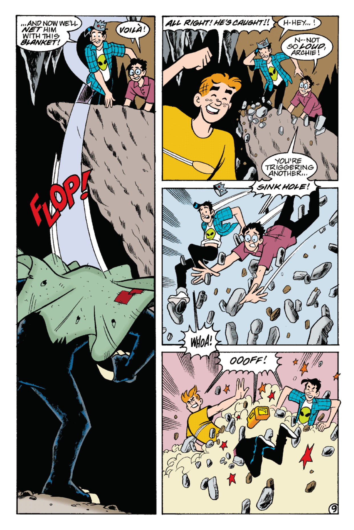 Read online Archie's Weird Mysteries comic -  Issue #22 - 23
