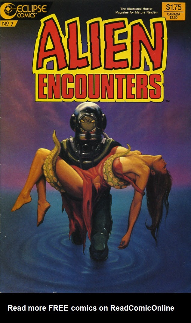 Alien Encounters 7 Page 1
