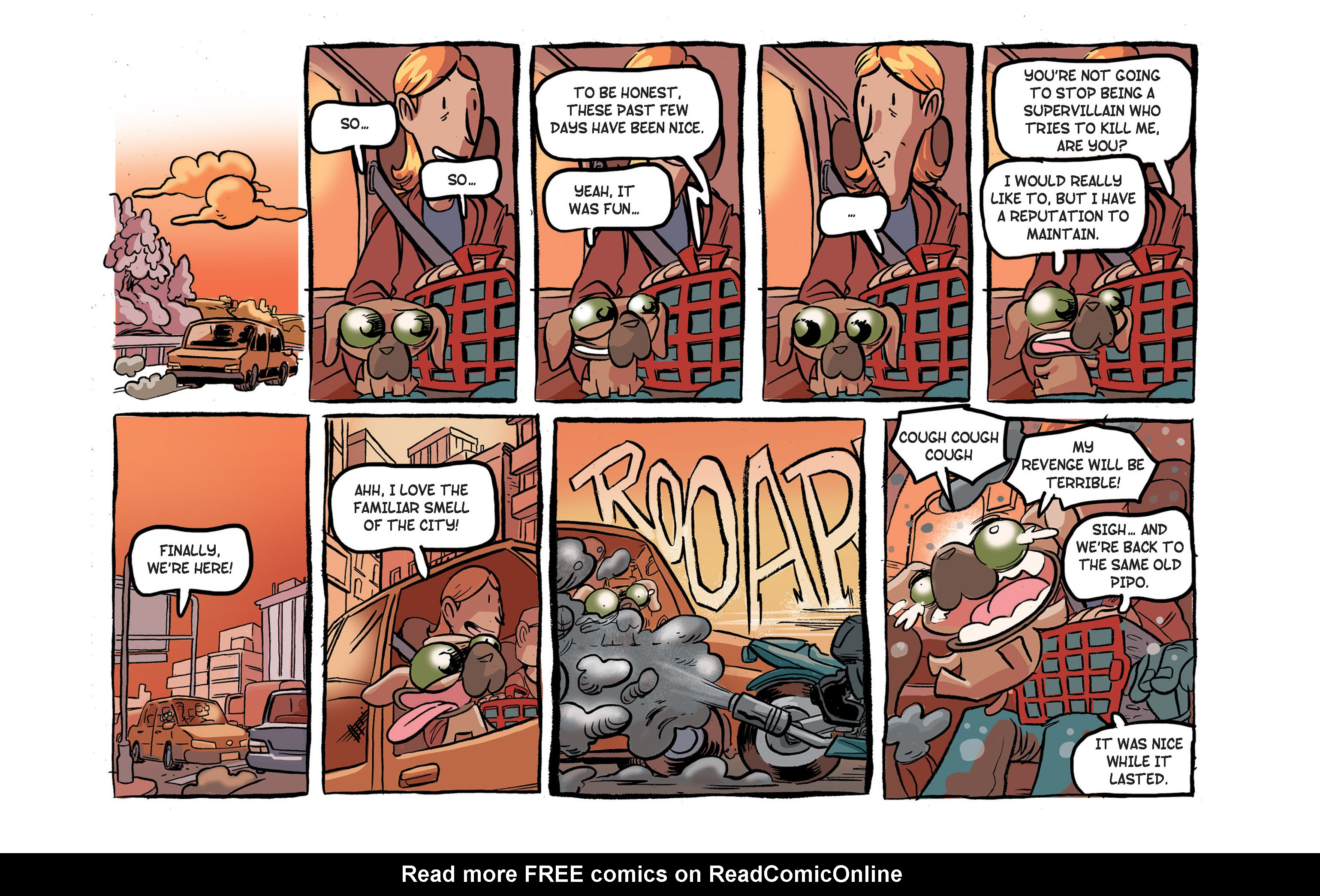 Read online Ultracat comic -  Issue #4 - 26
