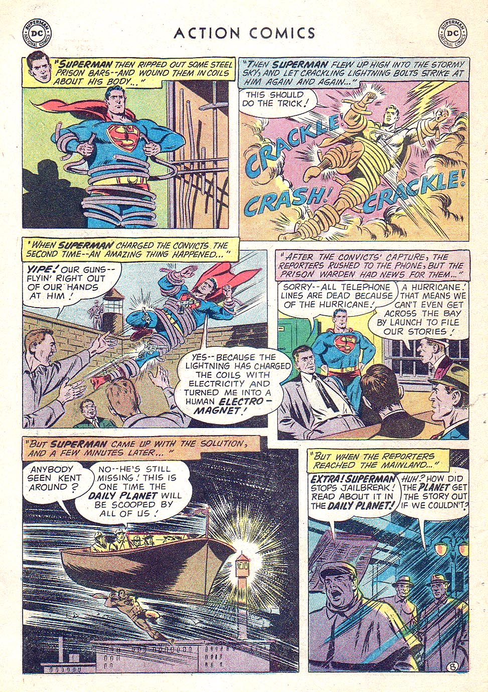 Read online Action Comics (1938) comic -  Issue #250 - 10