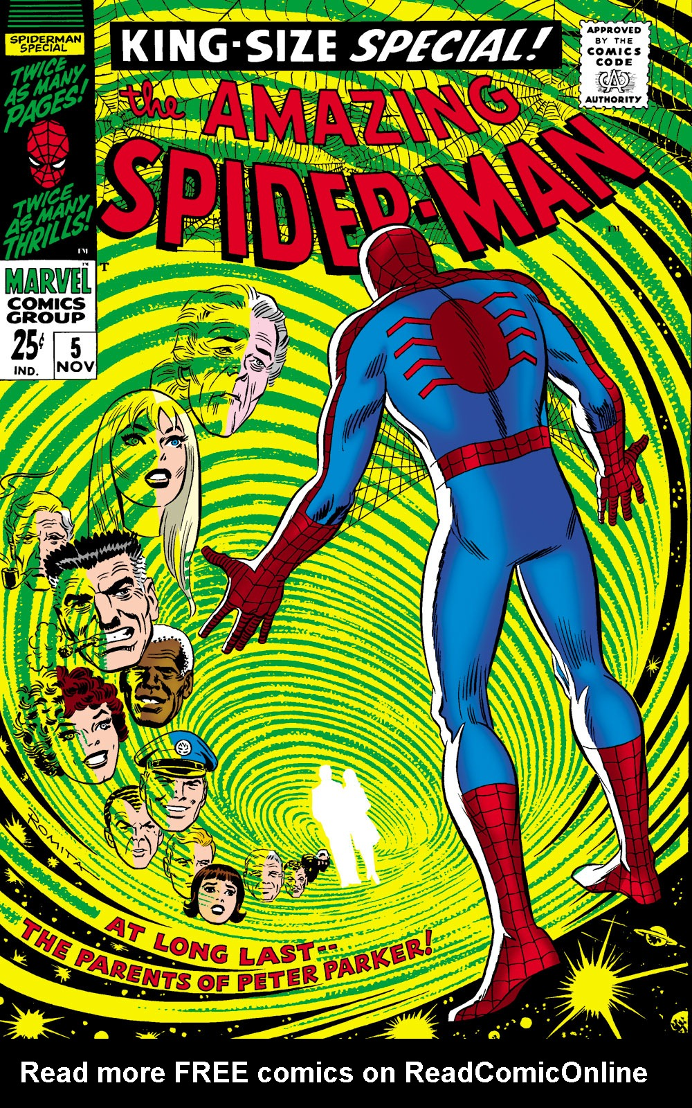 The Amazing Spider-Man (1963) _Annual_5 Page 0