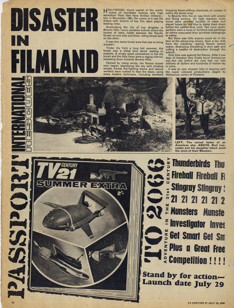 Read online TV Century 21 (TV 21) comic -  Issue #79 - 11