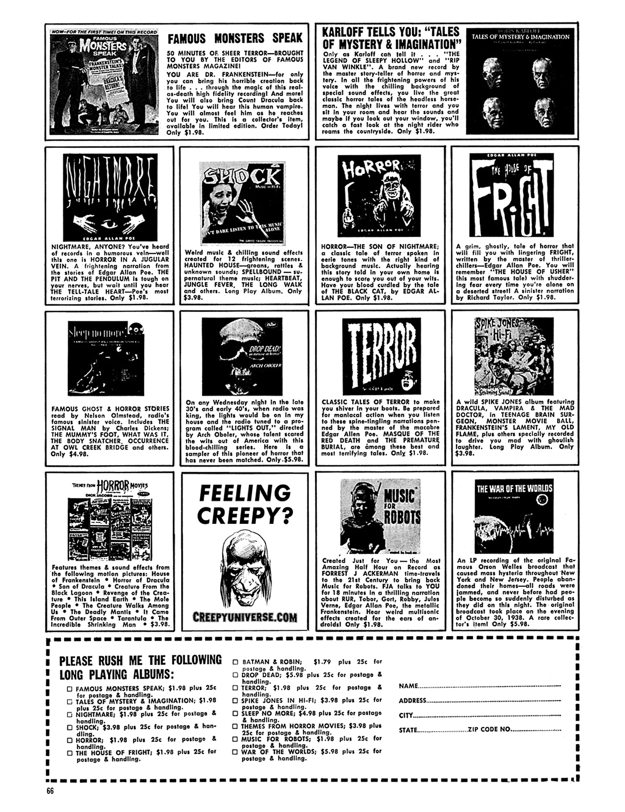 Read online Eerie Archives comic -  Issue # TPB 8 - 67