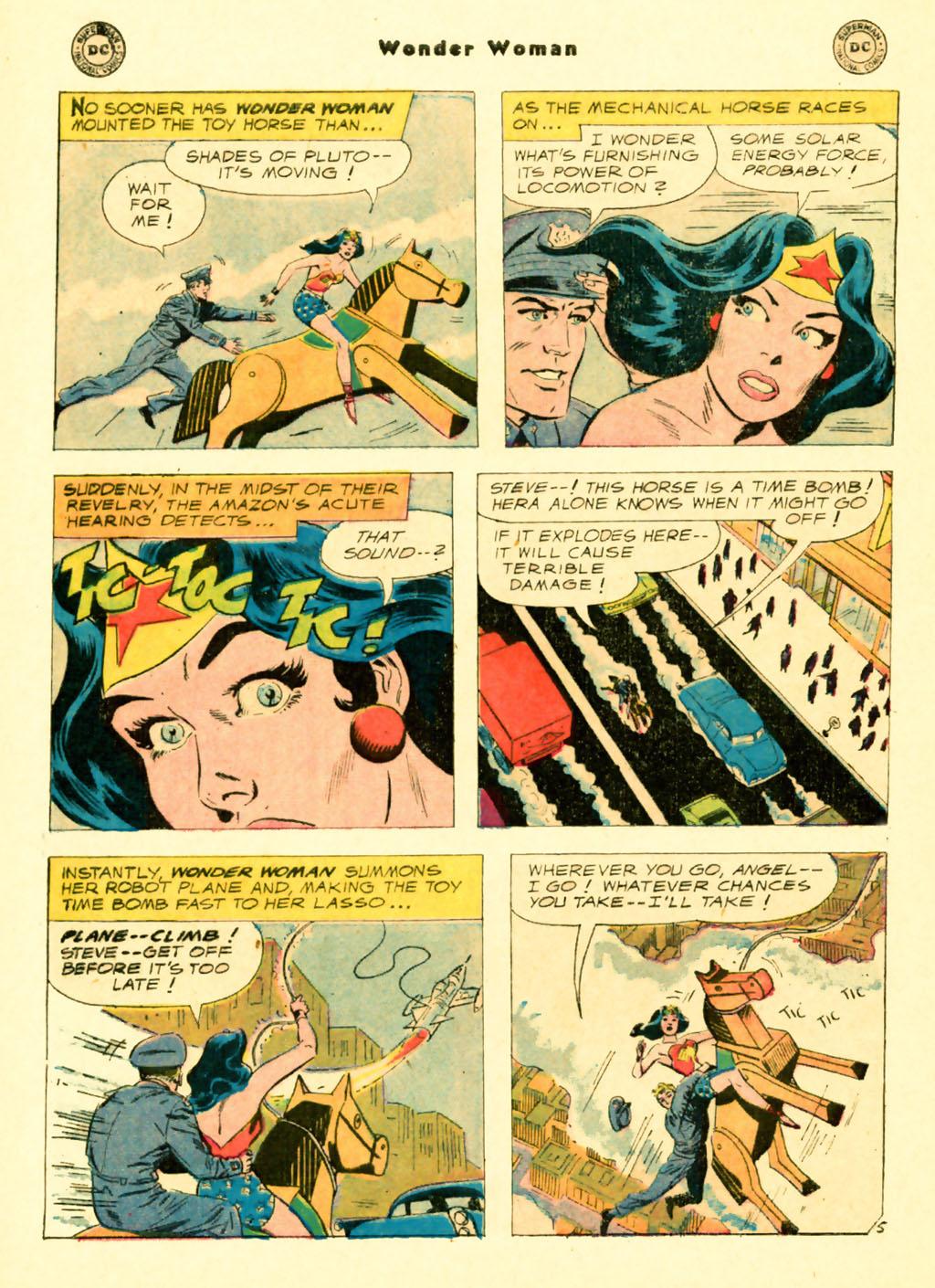Read online Wonder Woman (1942) comic -  Issue #103 - 20