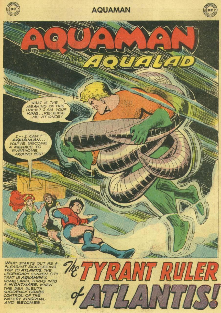 Read online Aquaman (1962) comic -  Issue #14 - 19