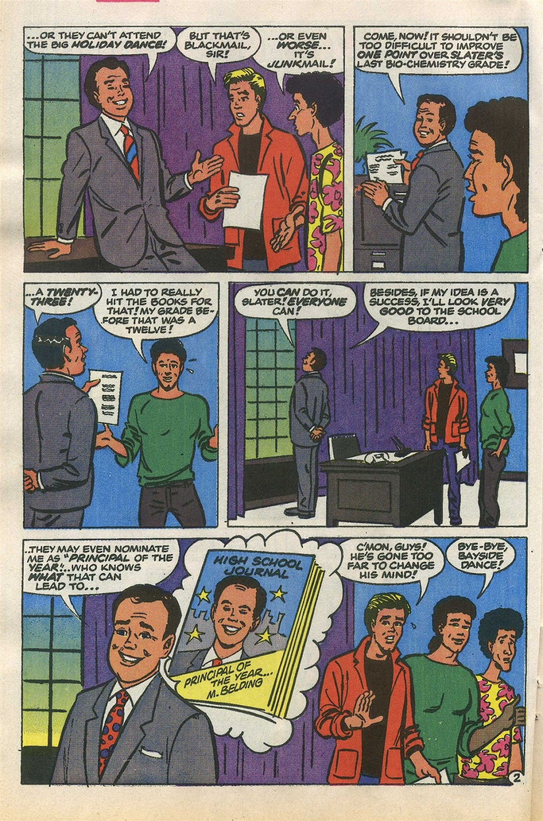 Read online Saved By The Bell comic -  Issue #1 - 21
