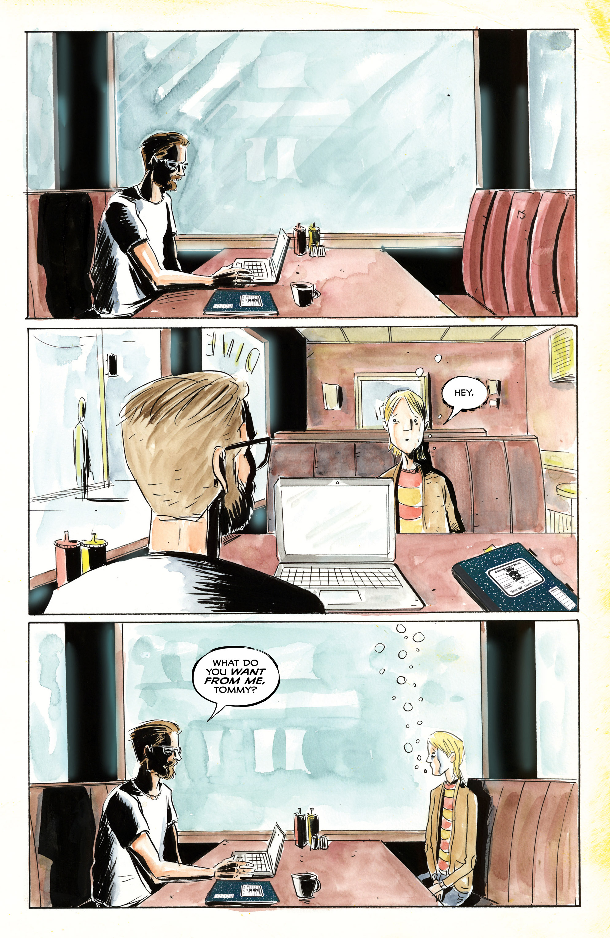 Read online Royal City comic -  Issue #3 - 14