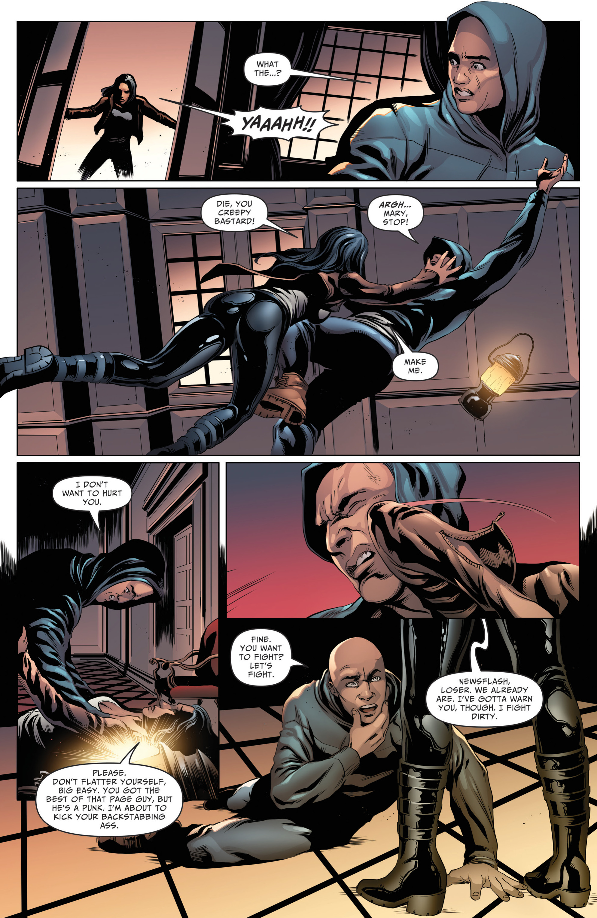 Read online Grimm Fairy Tales: Day of the Dead comic -  Issue #4 - 3