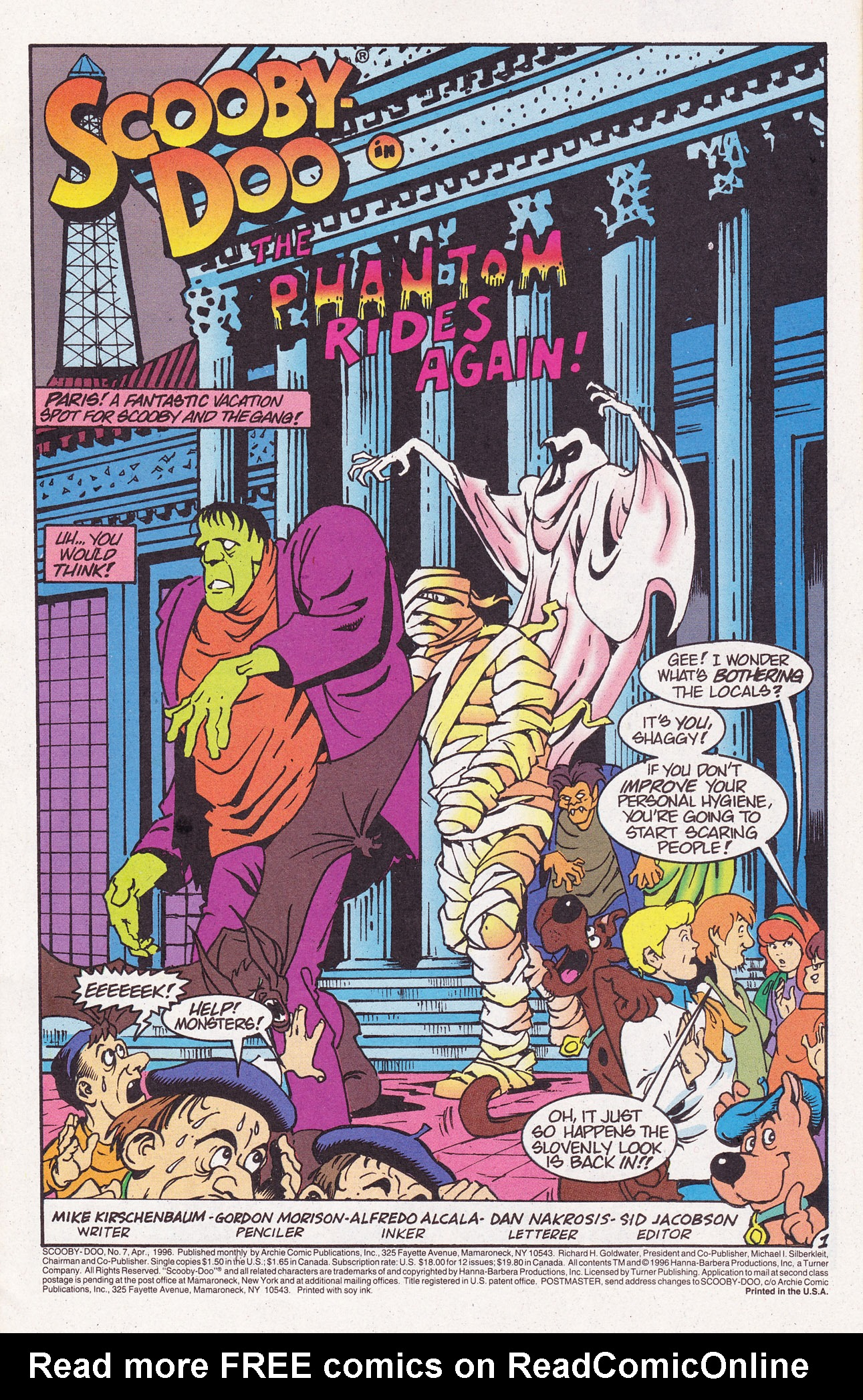 Read online Scooby-Doo (1995) comic -  Issue #7 - 3