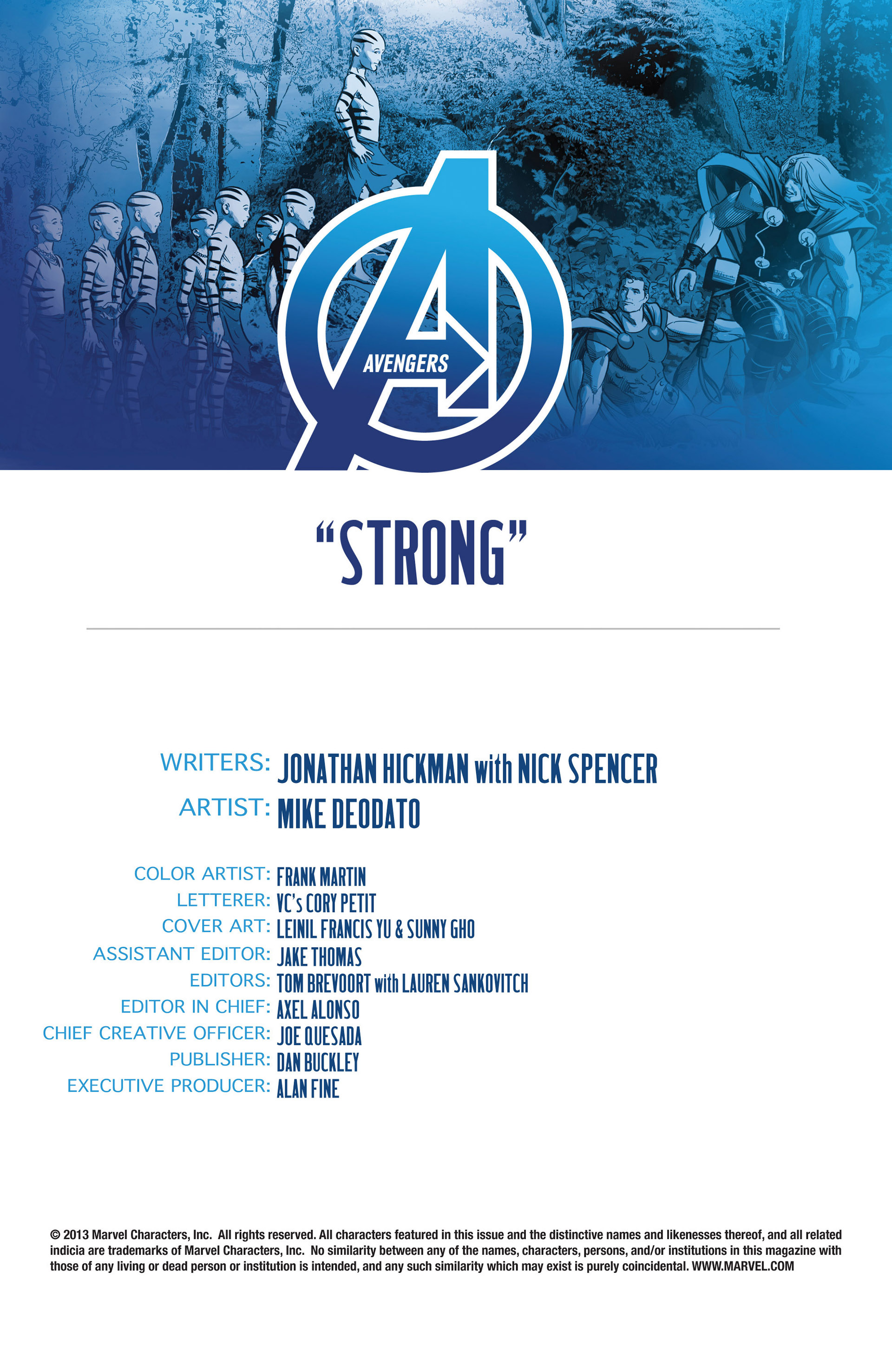 Read online Avengers (2013) comic -  Issue #13 - 4