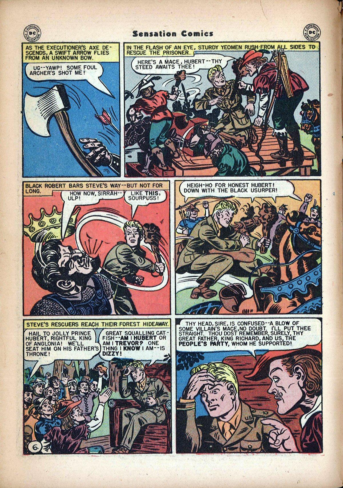 Read online Sensation (Mystery) Comics comic -  Issue #62 - 8