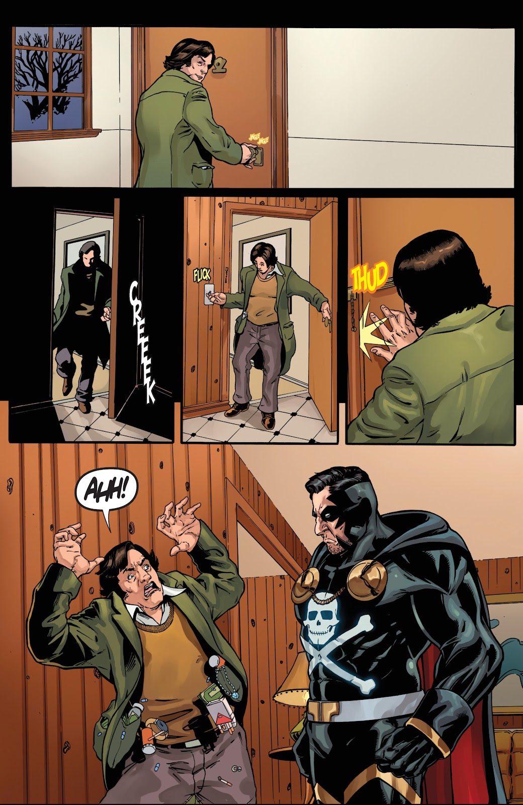 Read online Black Terror (2019) comic -  Issue # Full - 16