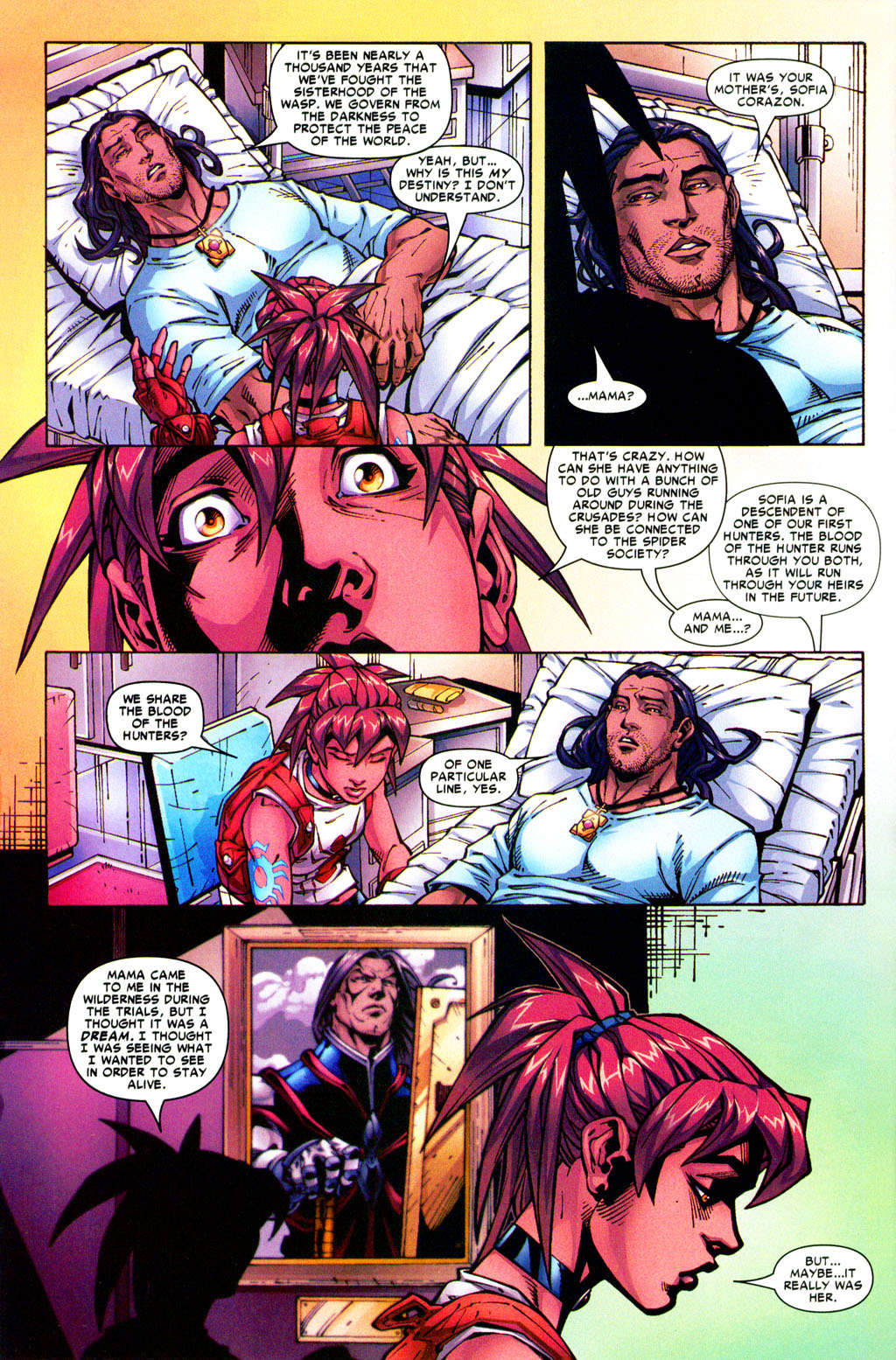 Read online Araña: Heart of the Spider comic -  Issue #5 - 10
