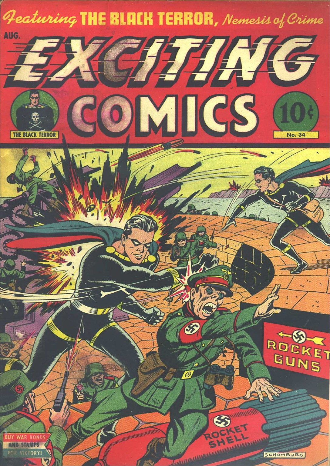 Exciting Comics (1940) 34 Page 1