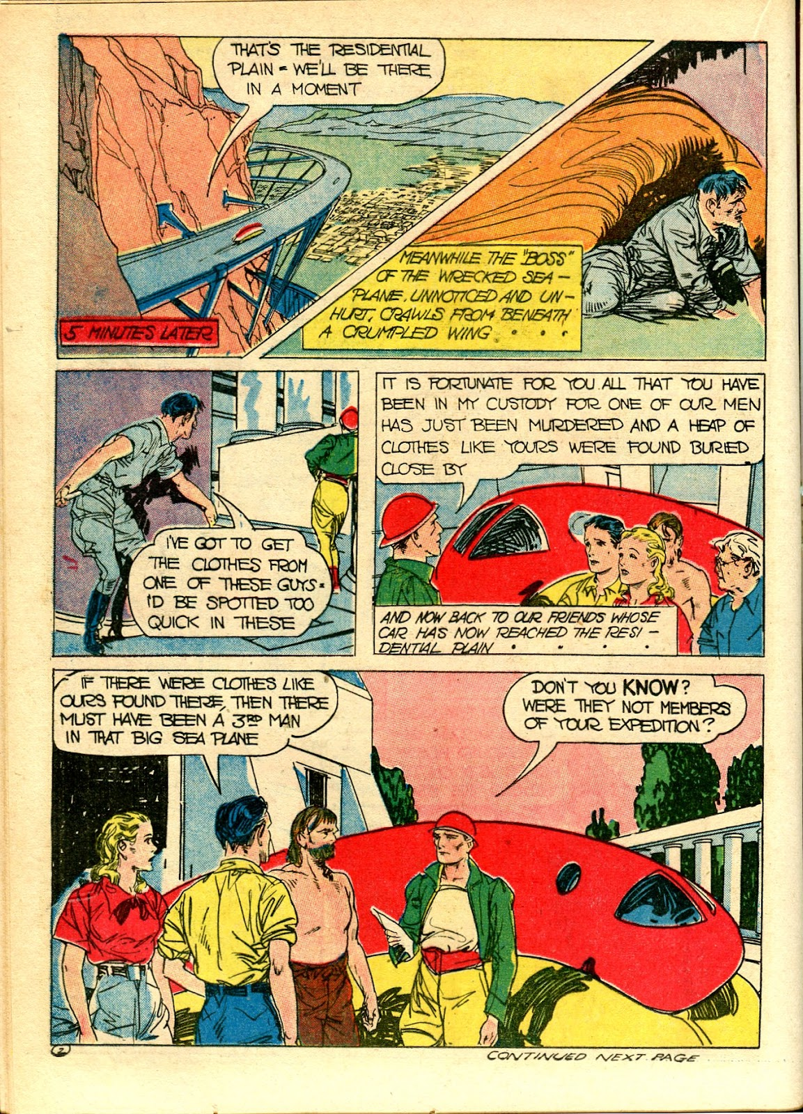 Read online Famous Funnies comic -  Issue #111 - 30