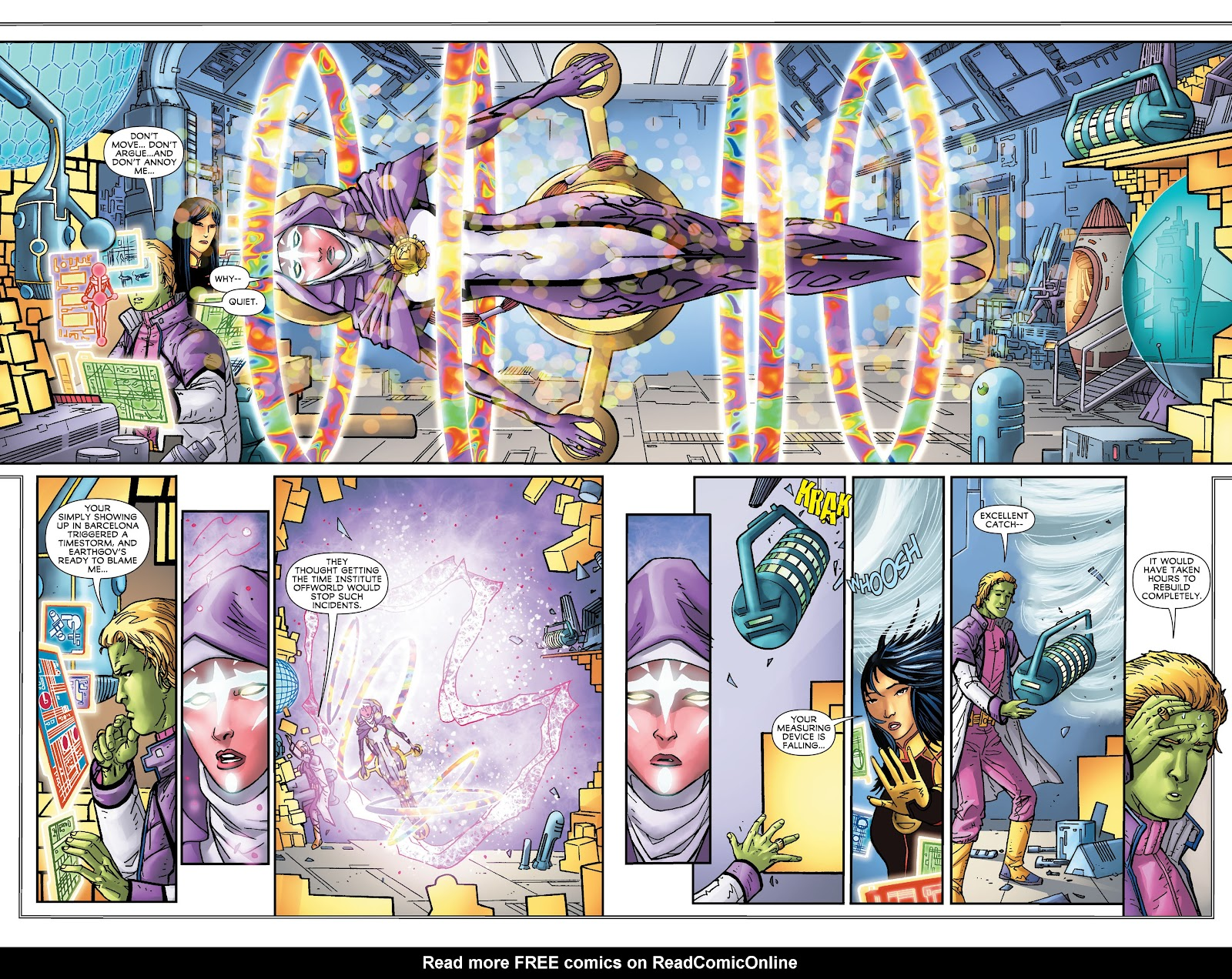 Legion of Super-Heroes (2011) Issue #16 #17 - English 13