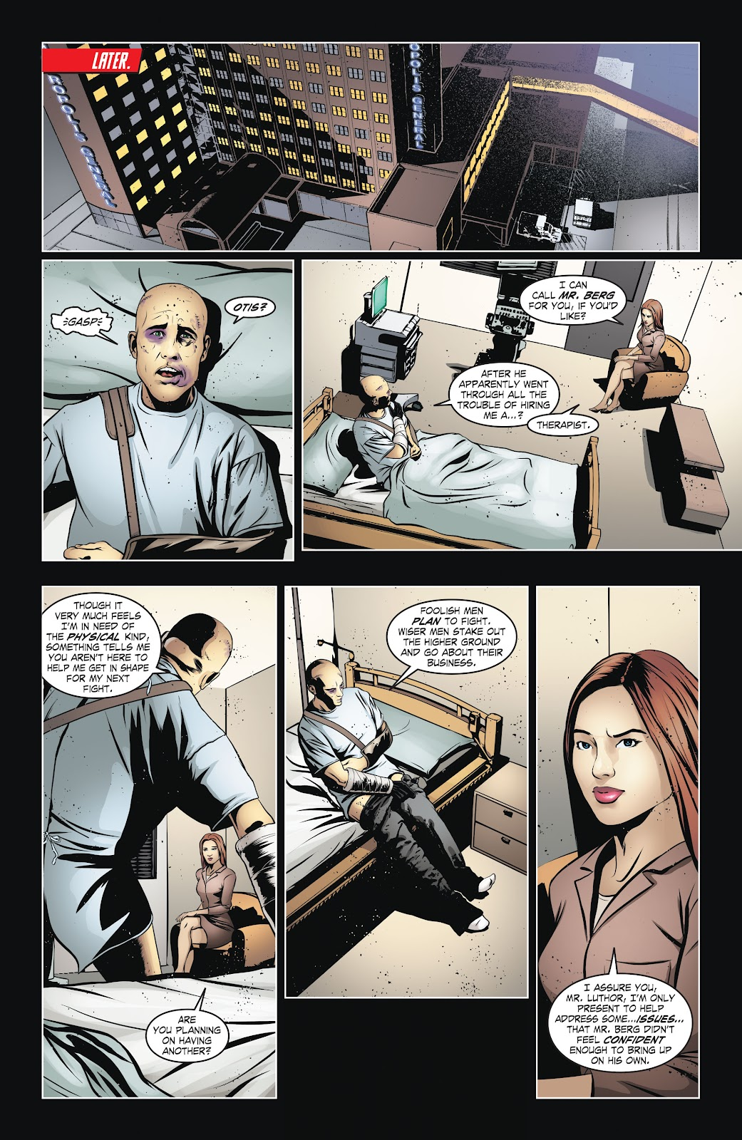 Read online Smallville Season 11 [II] comic -  Issue # TPB 6 - 17