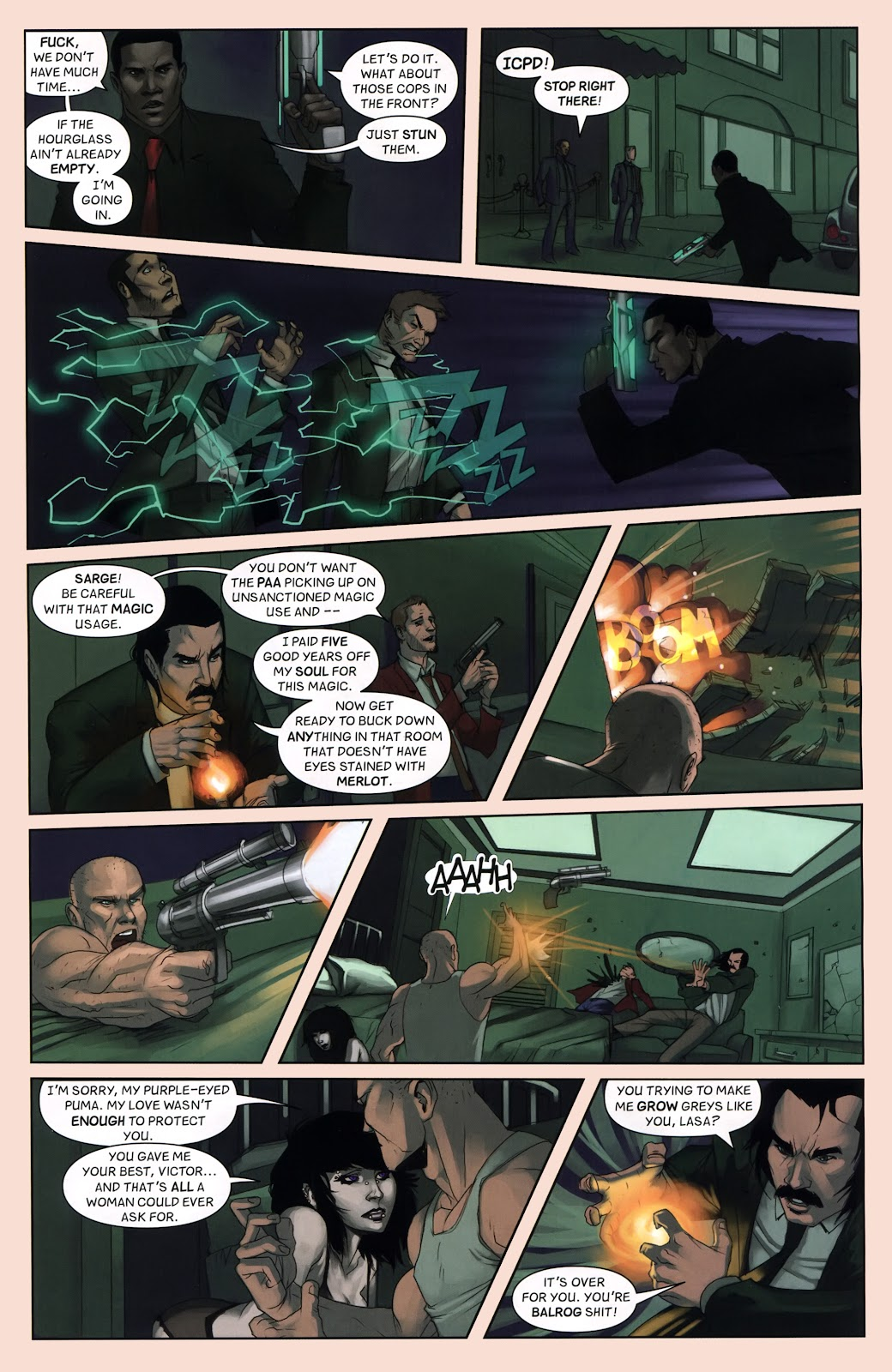 Read online Vescell comic -  Issue #7 - 19