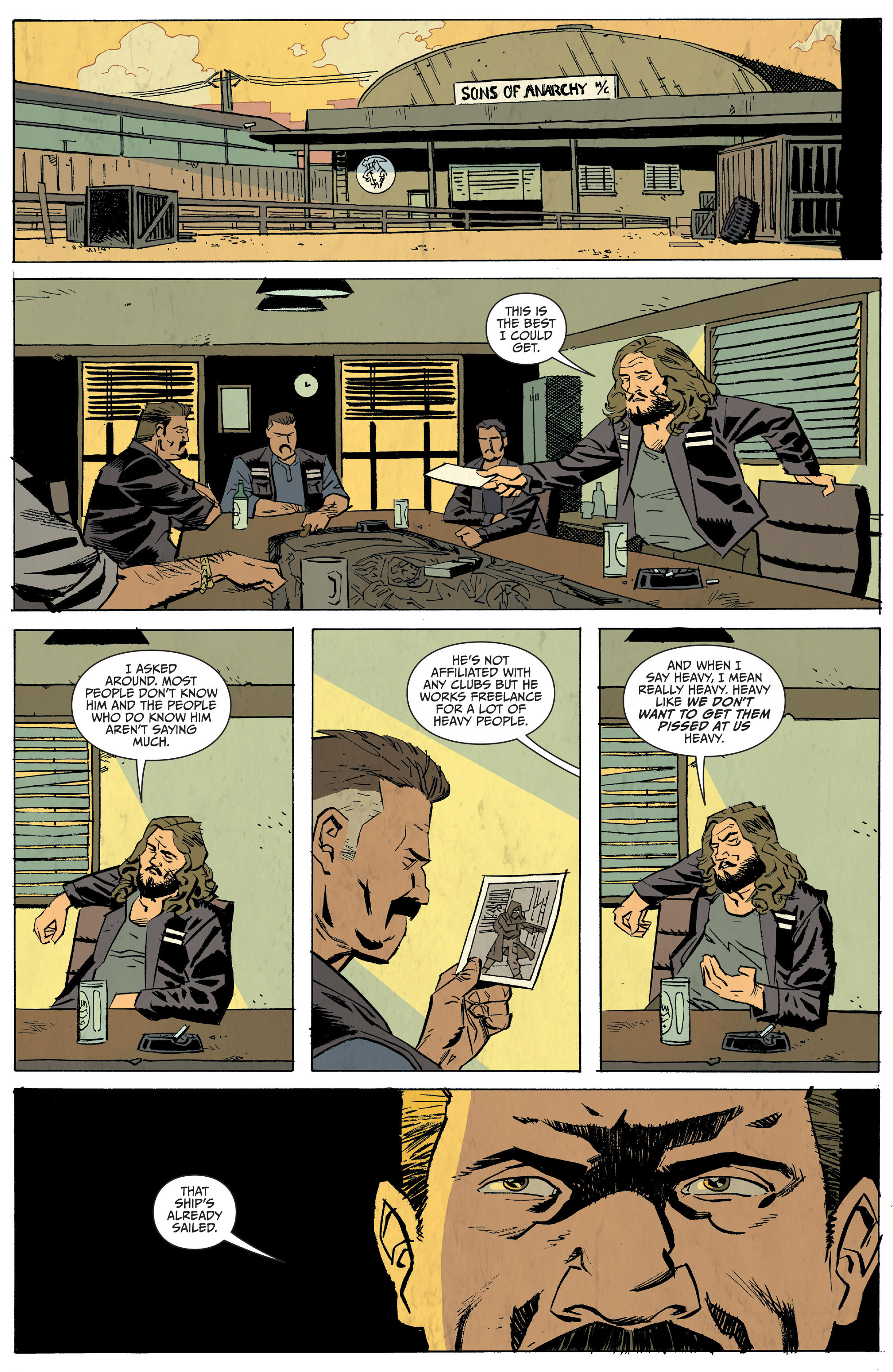 Read online Sons of Anarchy: Redwood Original comic -  Issue #5 - 9