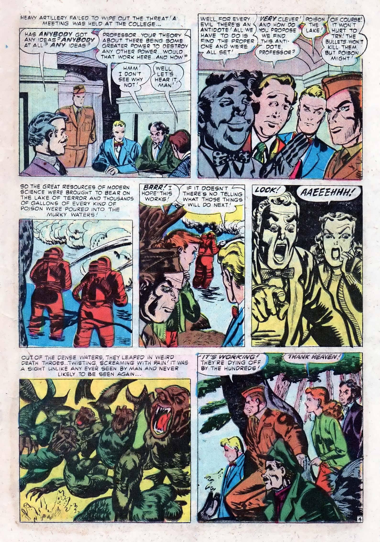 Read online Adventures into Weird Worlds comic -  Issue #10 - 12