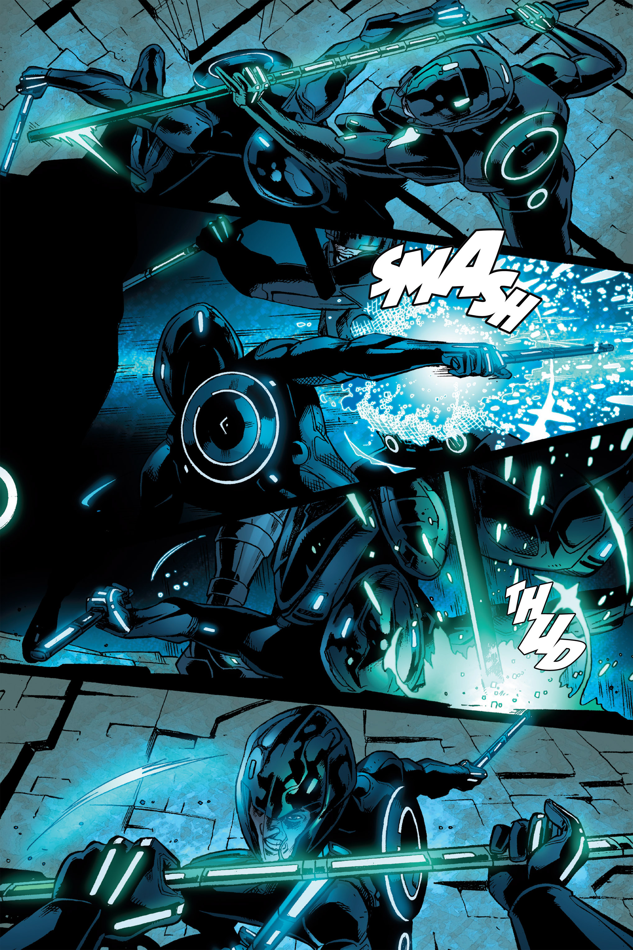 Read online TRON: Betrayal comic -  Issue # TPB - 100