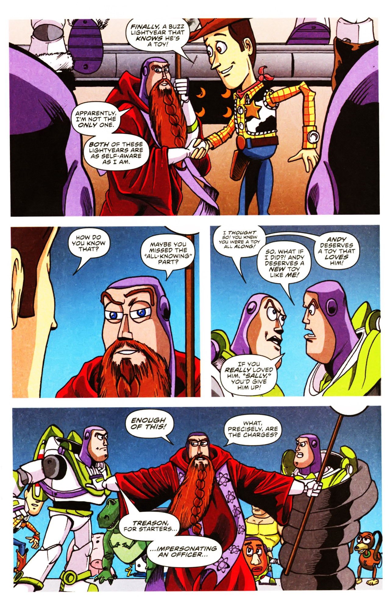 Read online Toy Story (2009) comic -  Issue #2 - 15