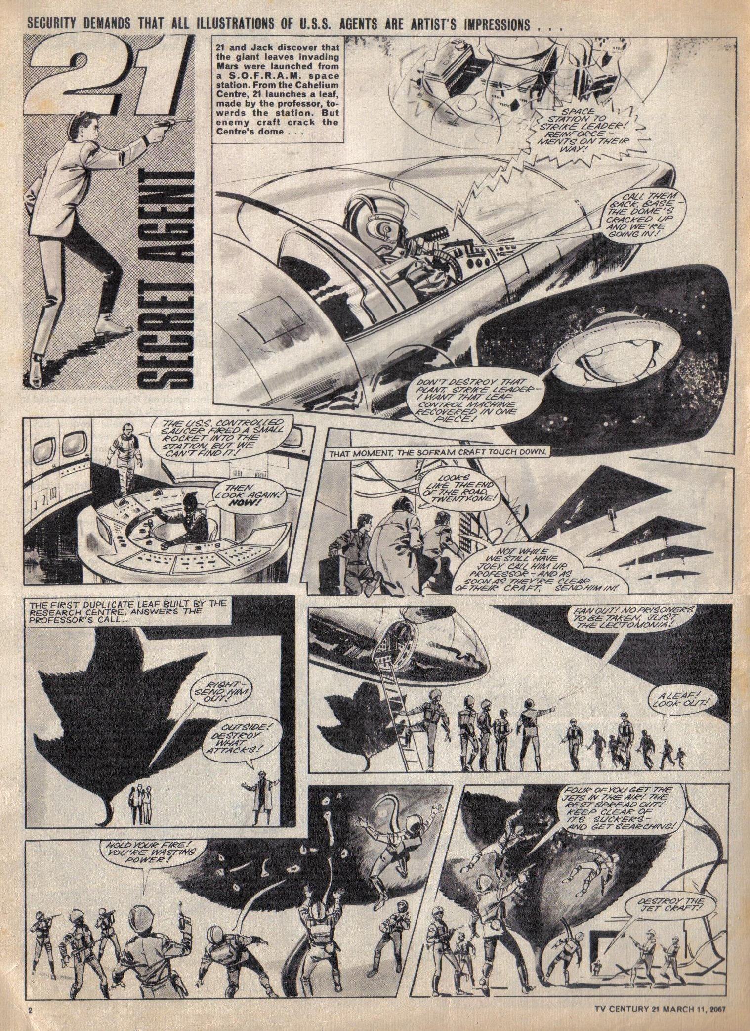 Read online TV Century 21 (TV 21) comic -  Issue #112 - 2