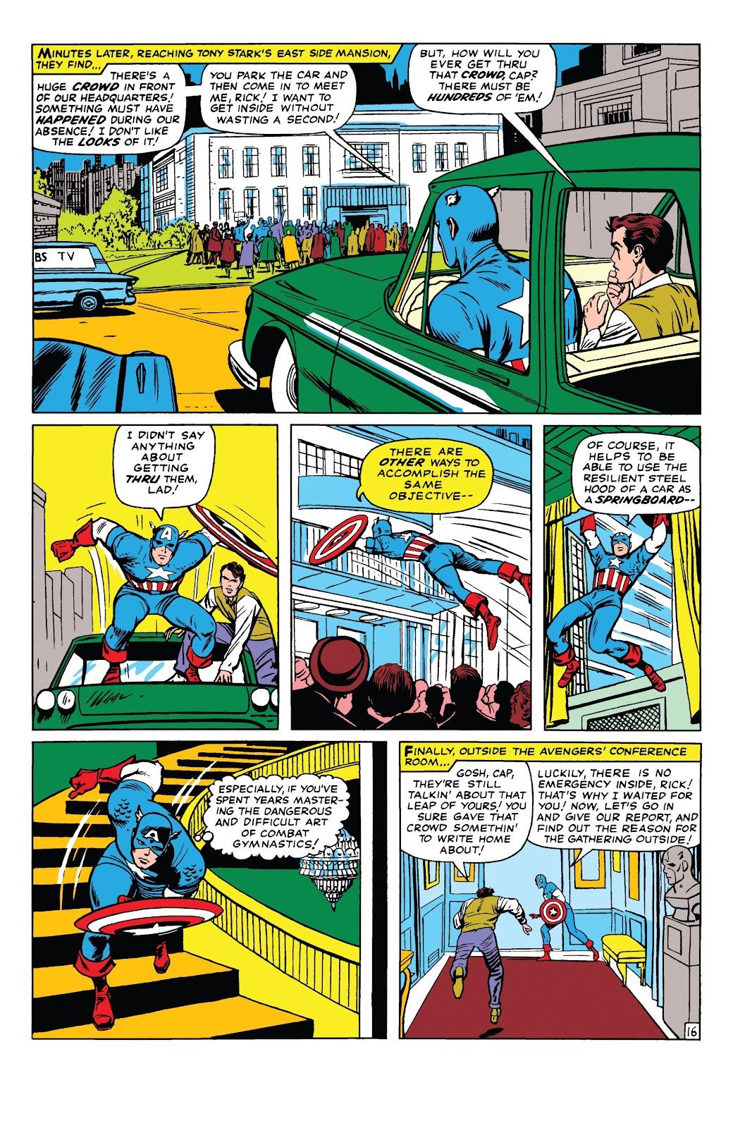 Read online Marvel Tales: Avengers comic -  Issue # Full - 21