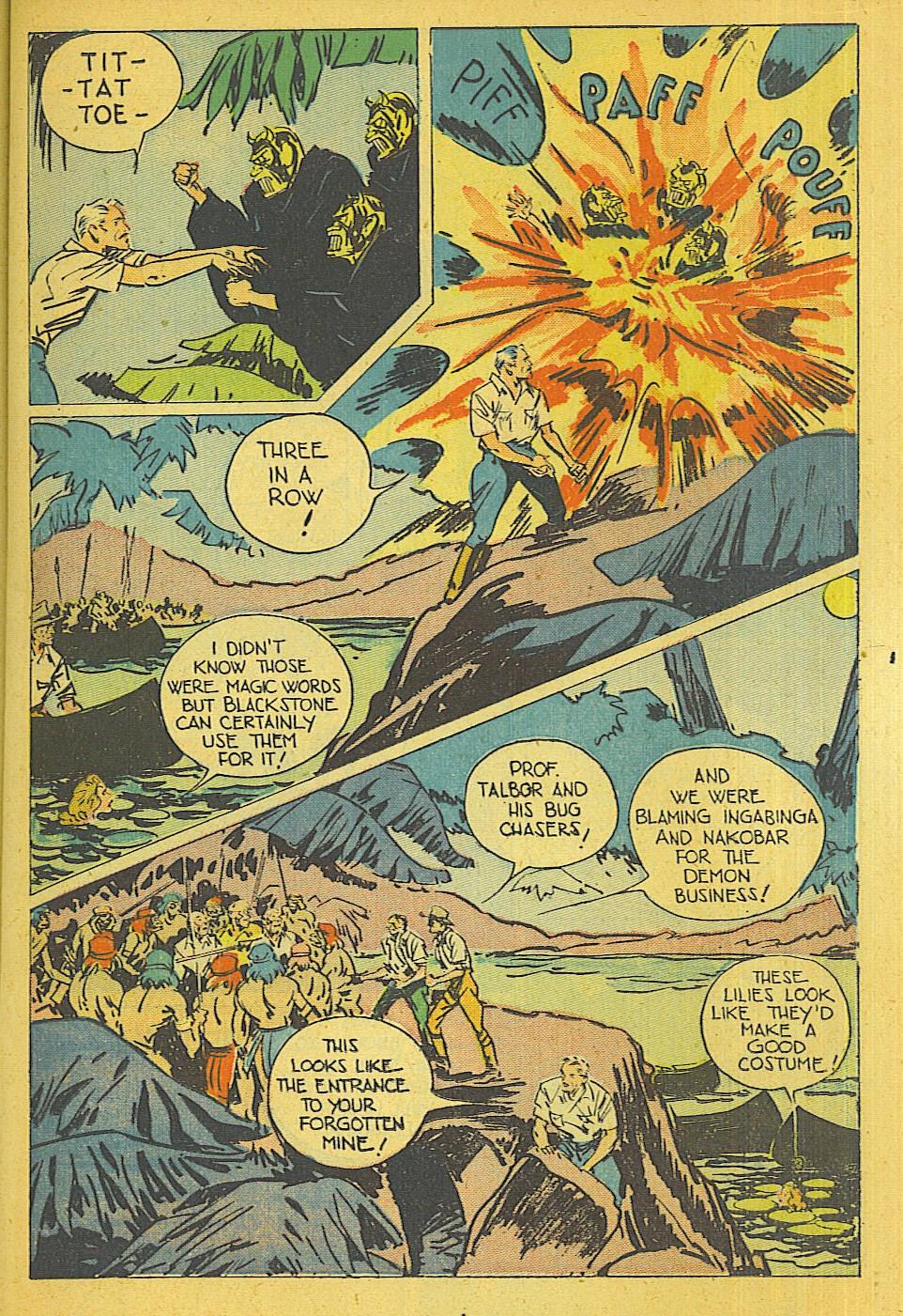 Read online Super-Magician Comics comic -  Issue #39 - 14