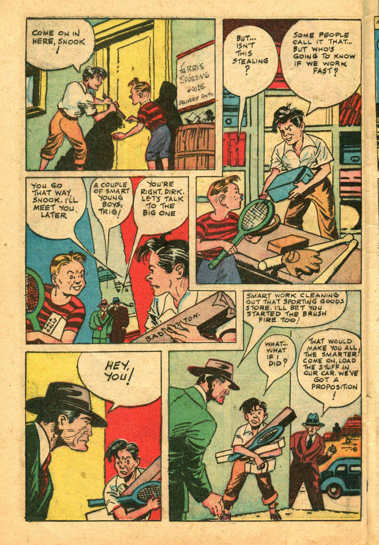 Read online Shadow Comics comic -  Issue #78 - 42