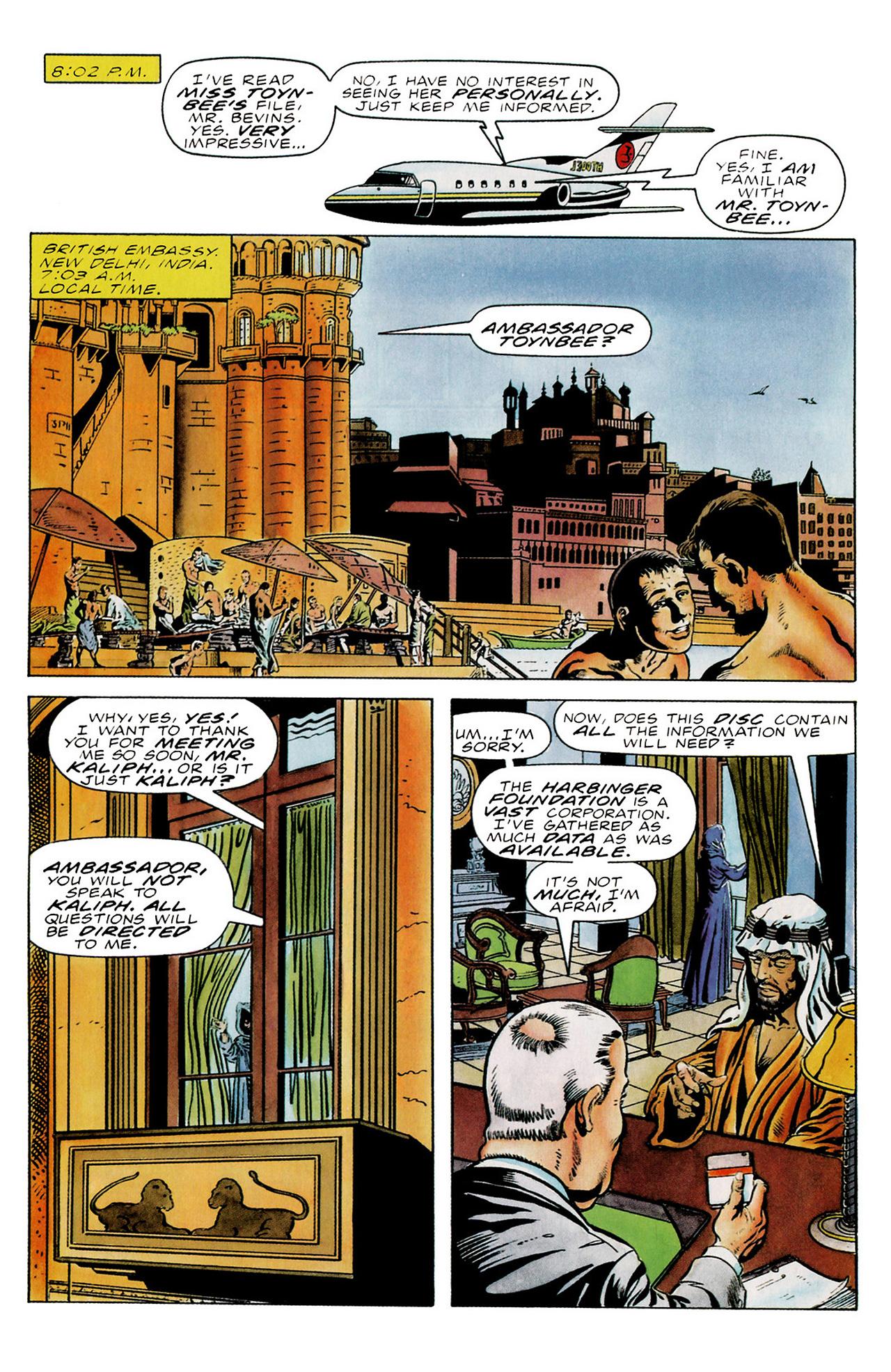 Read online Harbinger (1992) comic -  Issue #18 - 13
