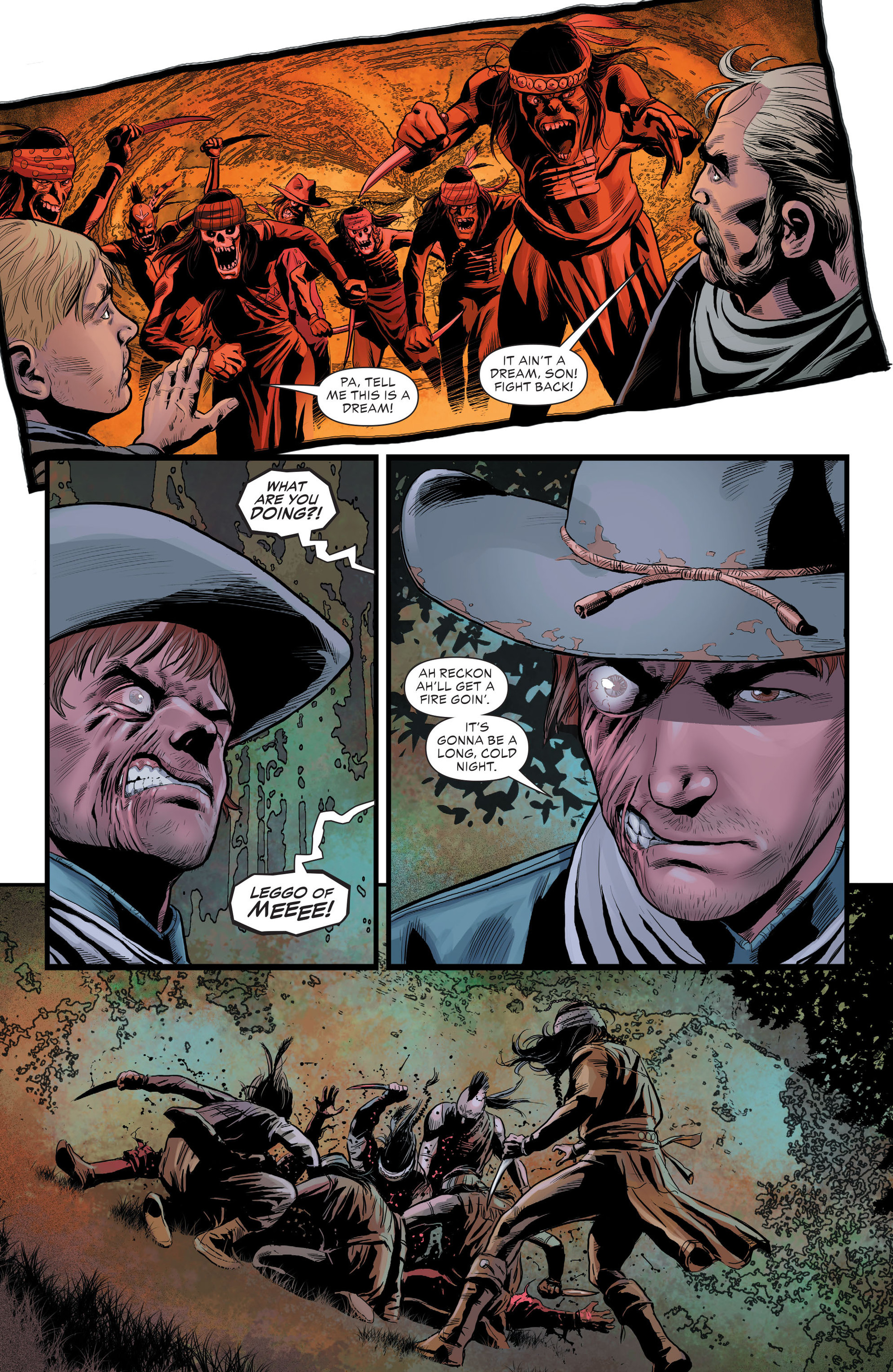 Read online All-Star Western (2011) comic -  Issue #29 - 19