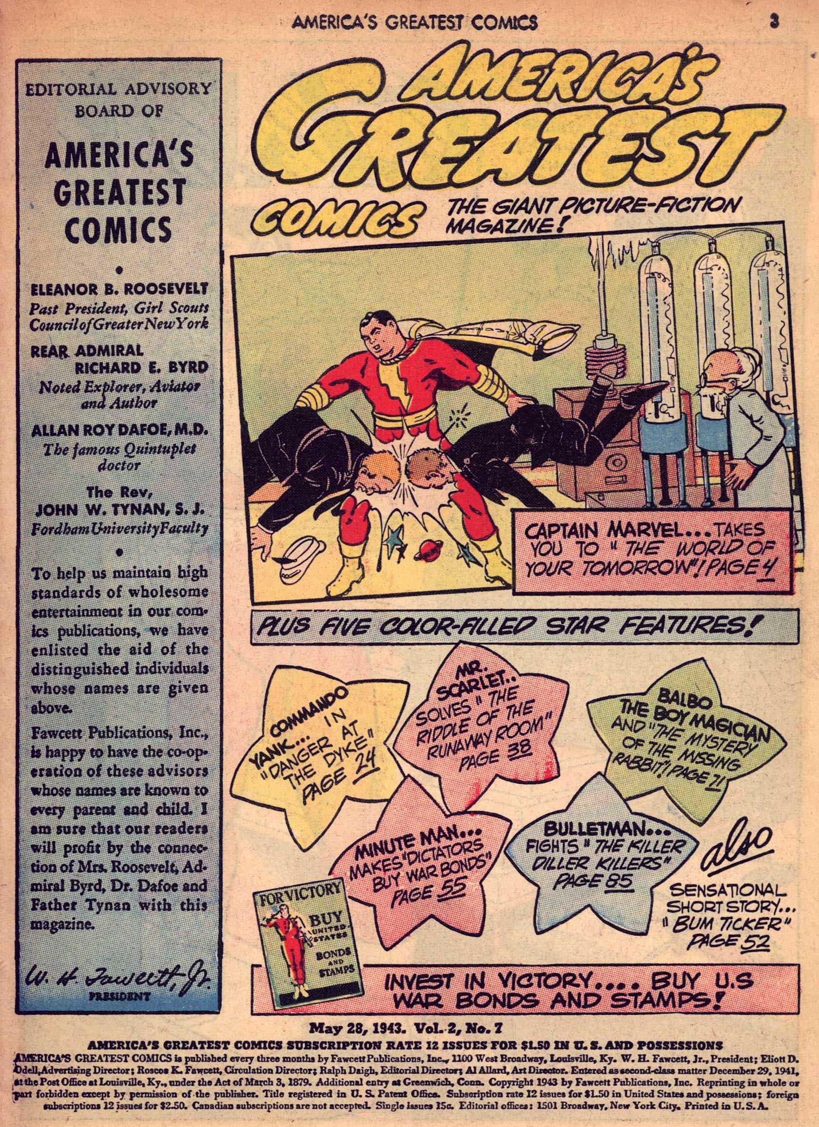 Read online America's Greatest Comics comic -  Issue #7 - 3
