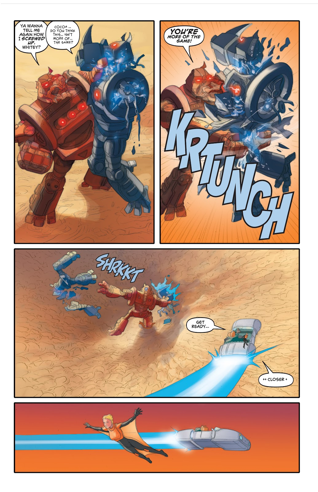 Read online Elephantmen 2261 Season Two: The Pentalion Job comic -  Issue # TPB - 86