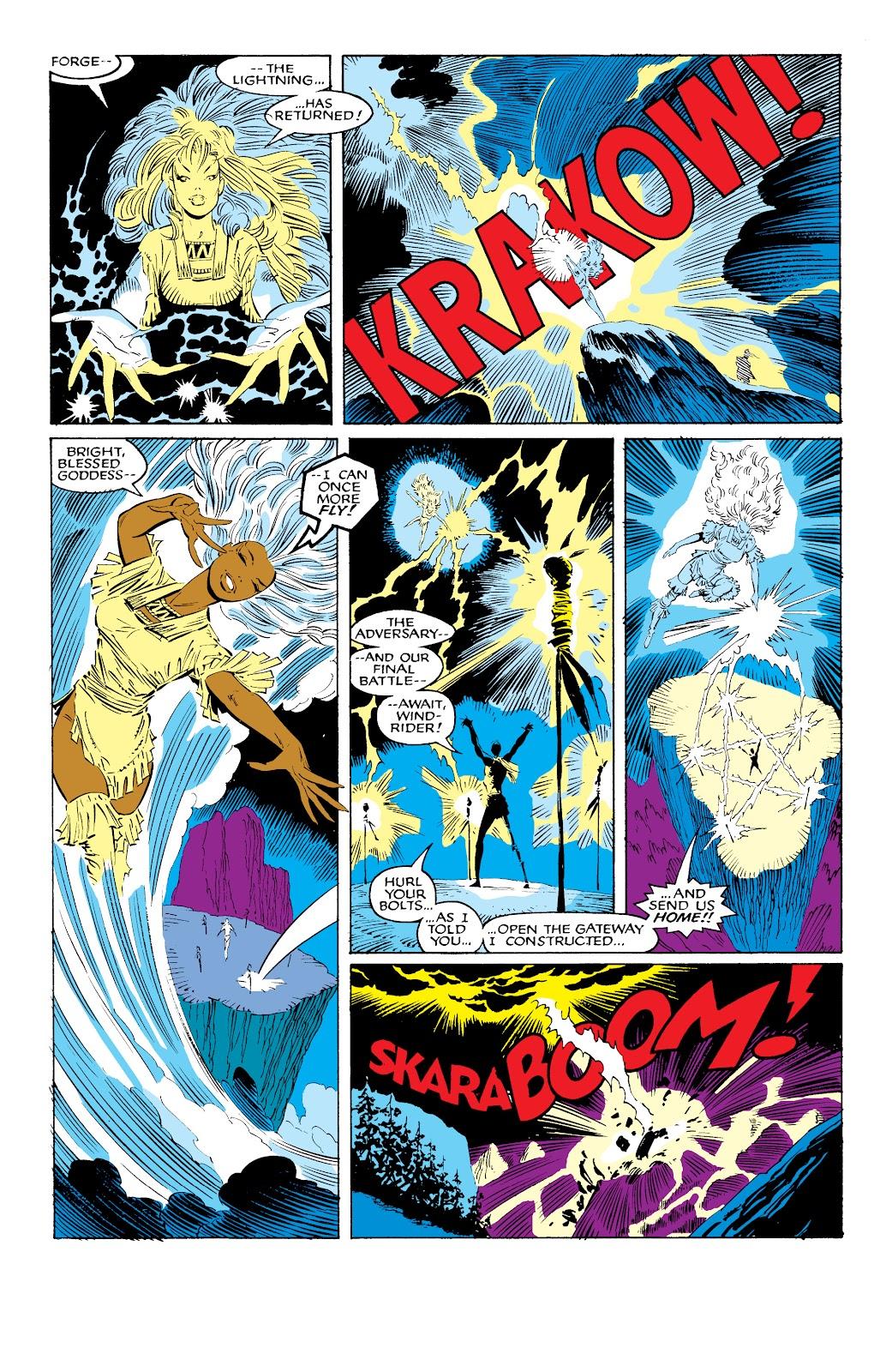 Read online X-Men Milestones: Fall of the Mutants comic -  Issue # TPB (Part 1) - 65