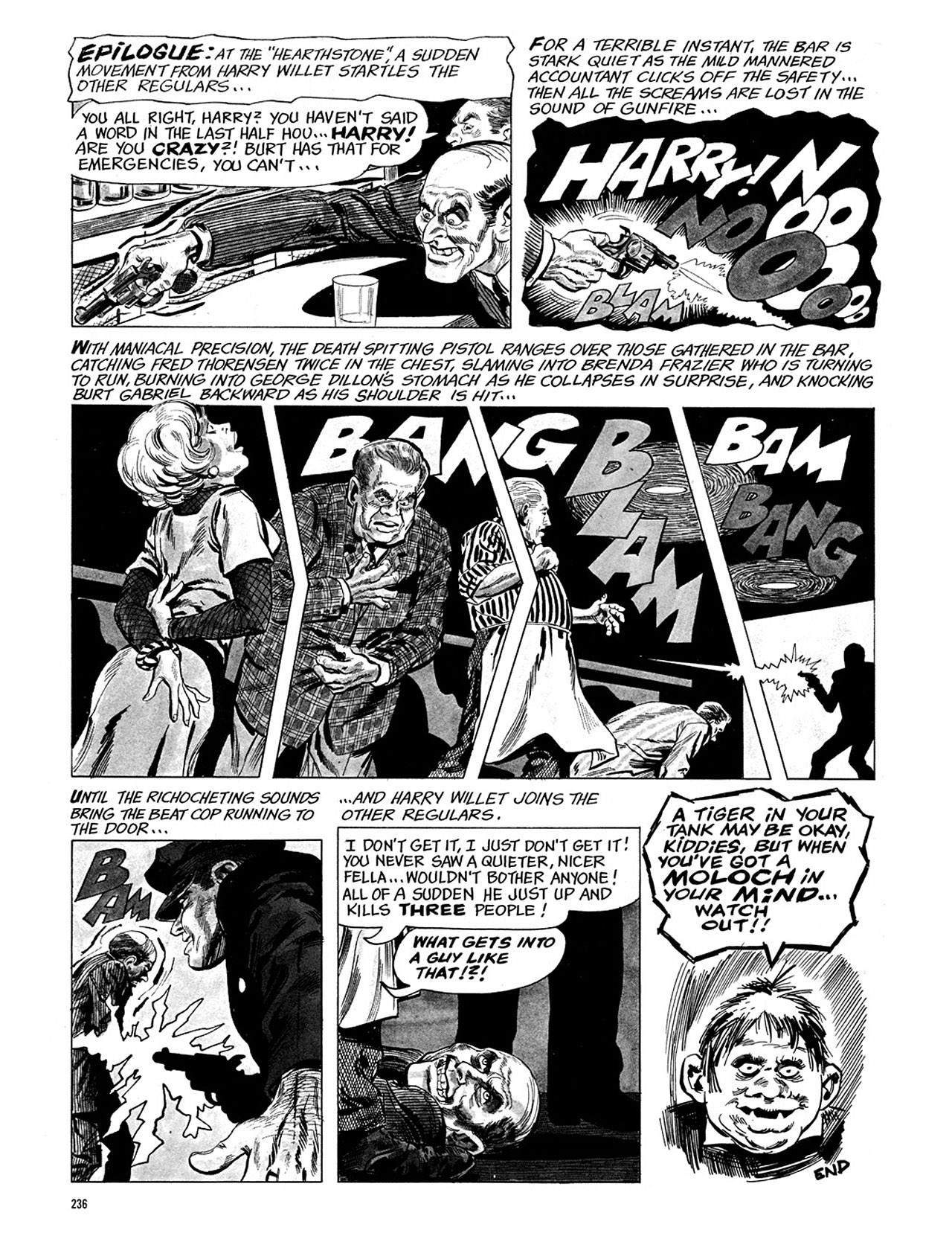 Read online Eerie Archives comic -  Issue # TPB 3 - 237