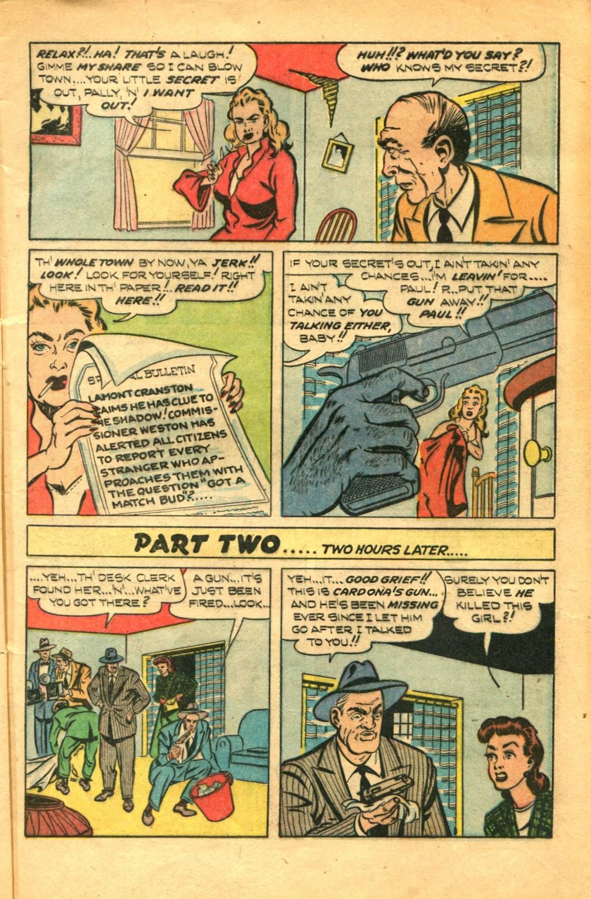 Read online Shadow Comics comic -  Issue #91 - 9