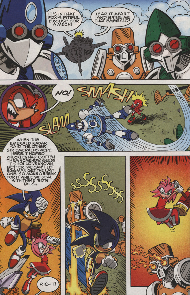 Read online Sonic X comic -  Issue #28 - 26