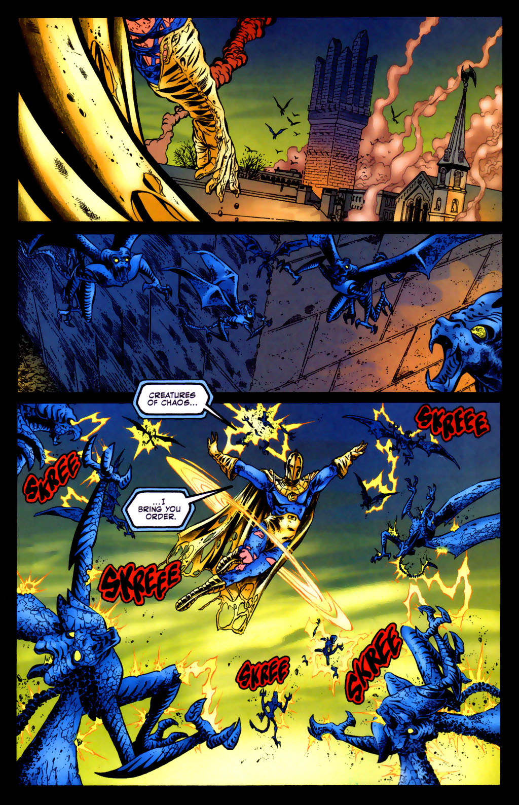 Read online Doctor Fate (2003) comic -  Issue #5 - 10