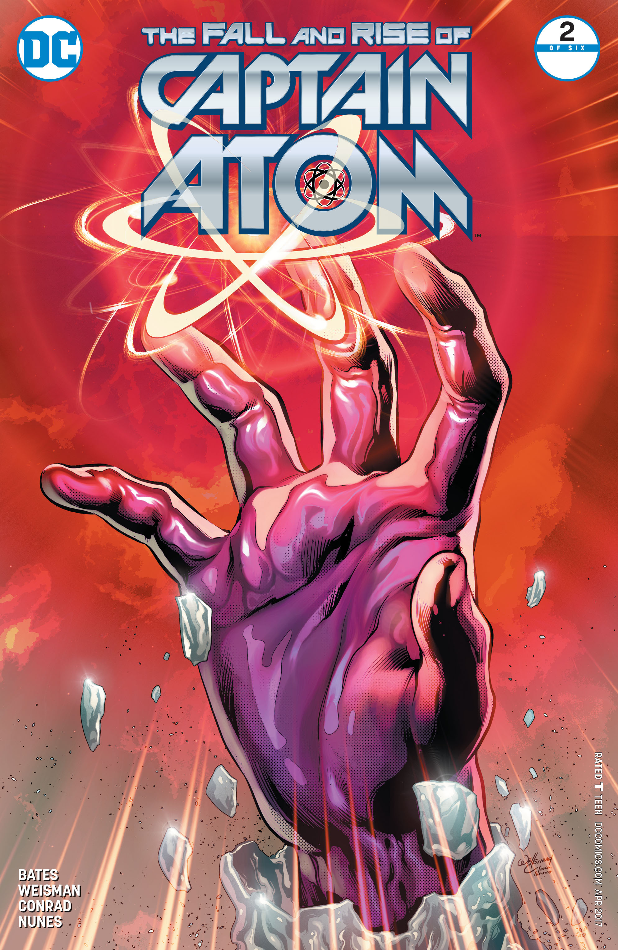 The Fall and Rise of Captain Atom 2 Page 1