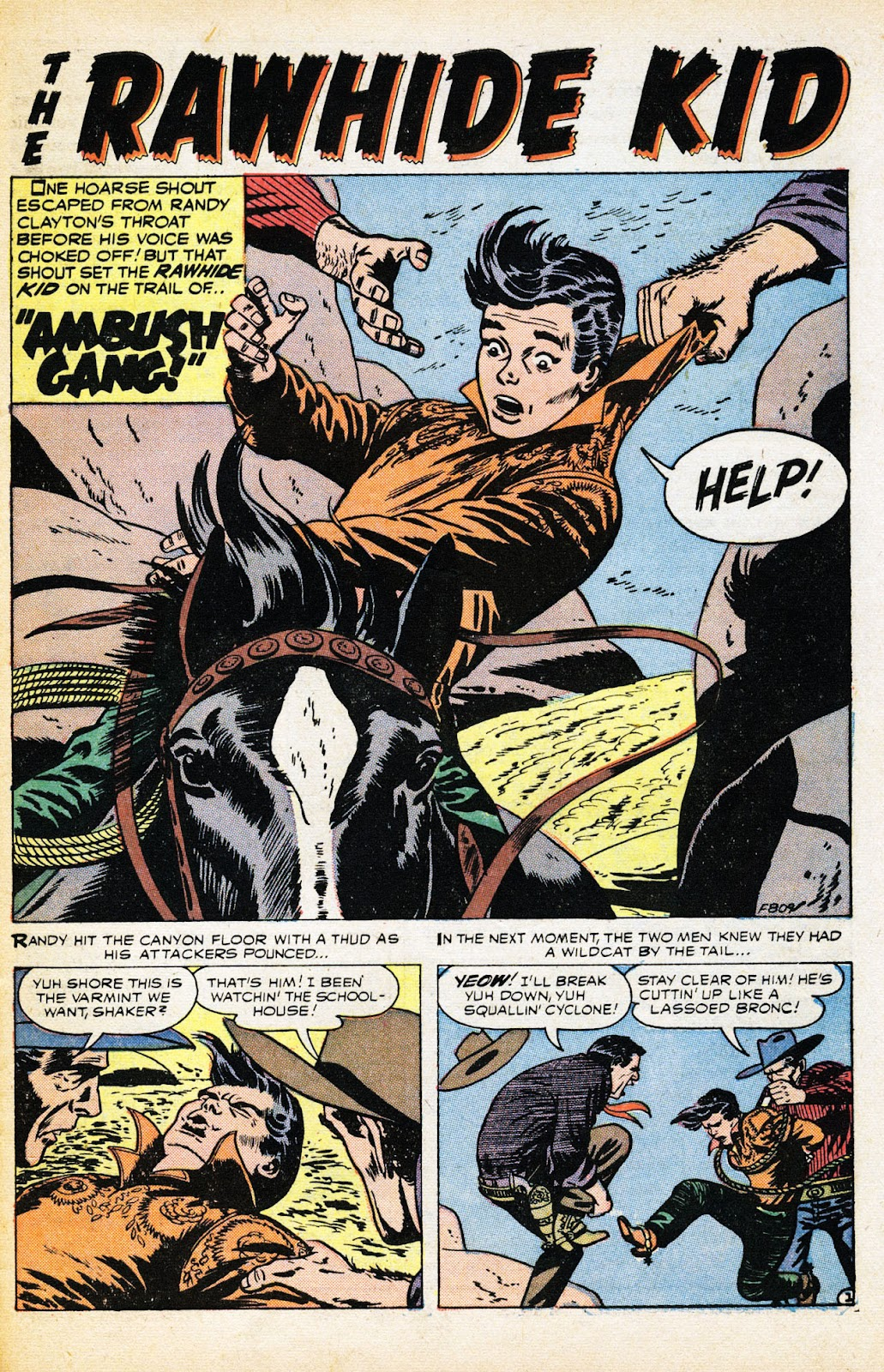 The Rawhide Kid (1955) issue 2 - Page 27