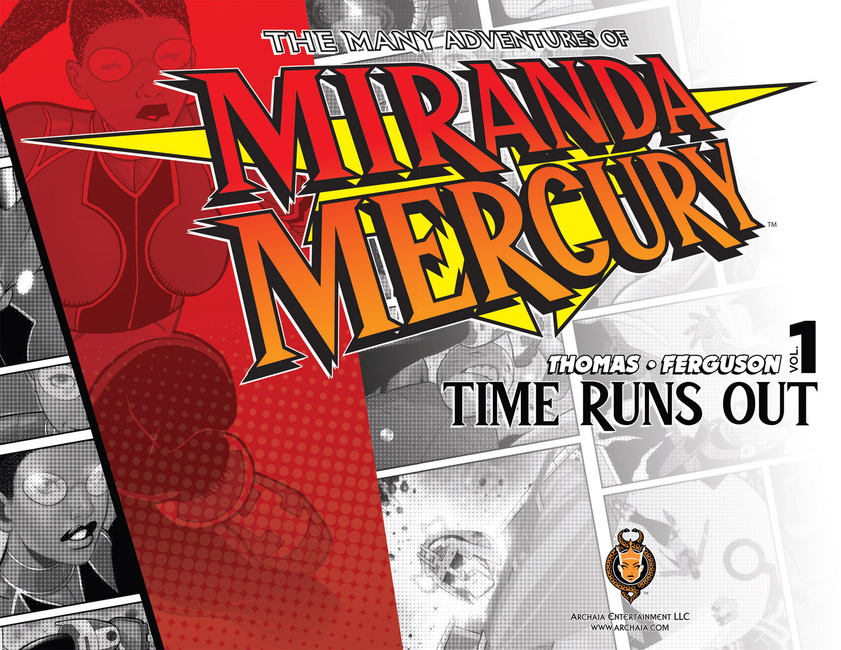 Read online The Many Adventures of Miranda Mercury: Time Runs Out comic -  Issue # TPB - 9