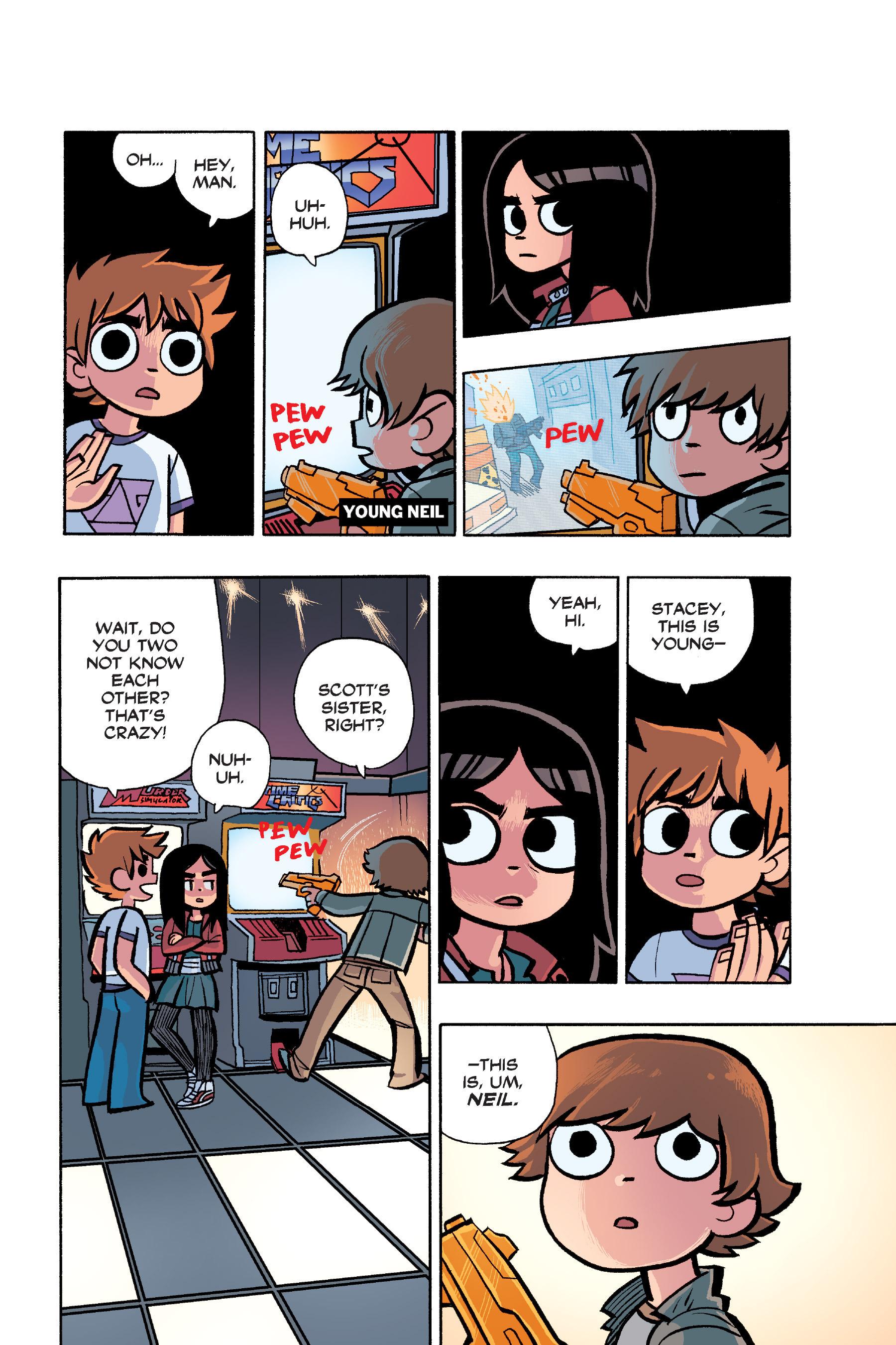 Read online Scott Pilgrim comic -  Issue #6 - 107