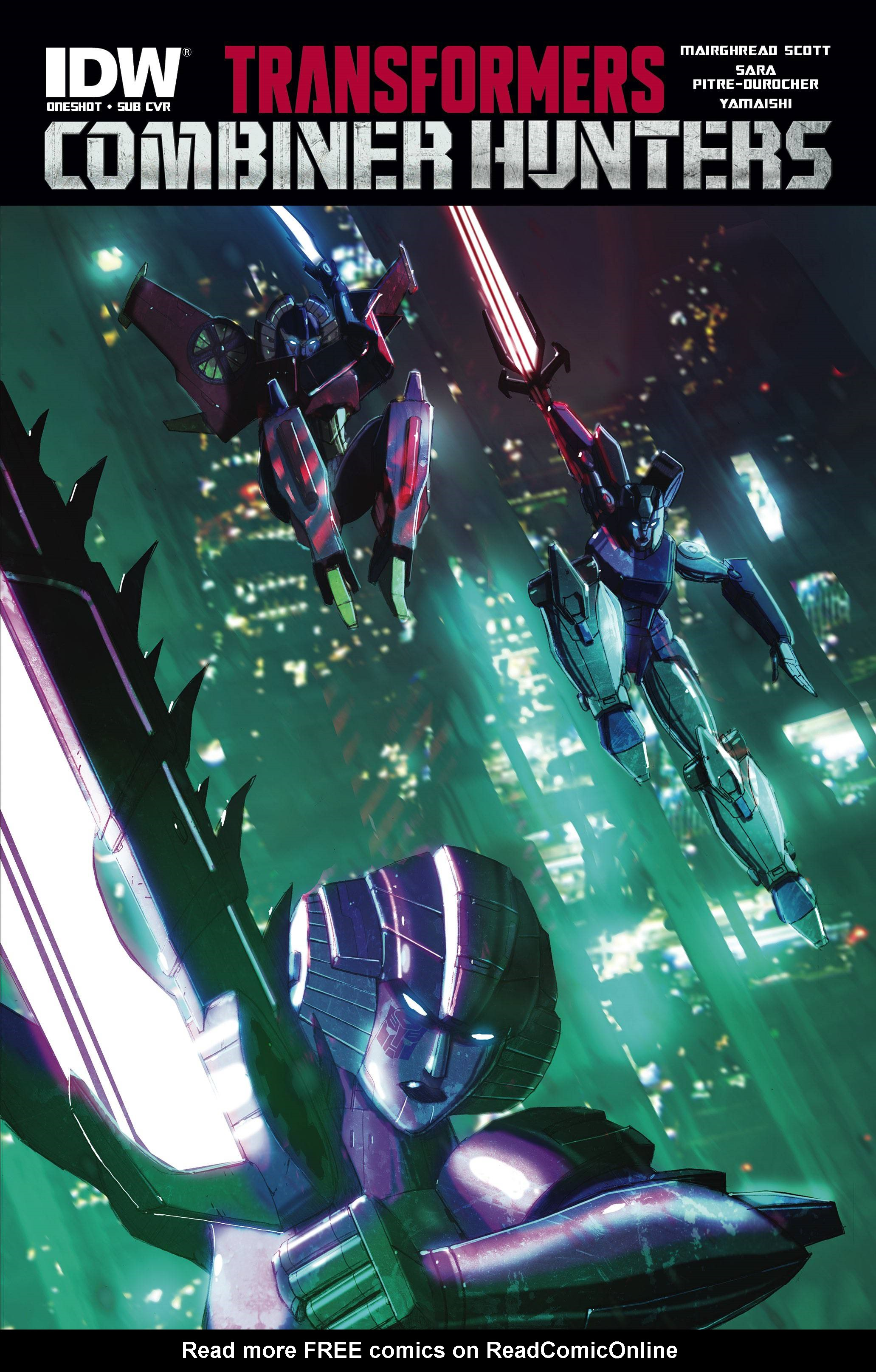 Read online Transformers: Combiner Hunters comic -  Issue # Full - 3