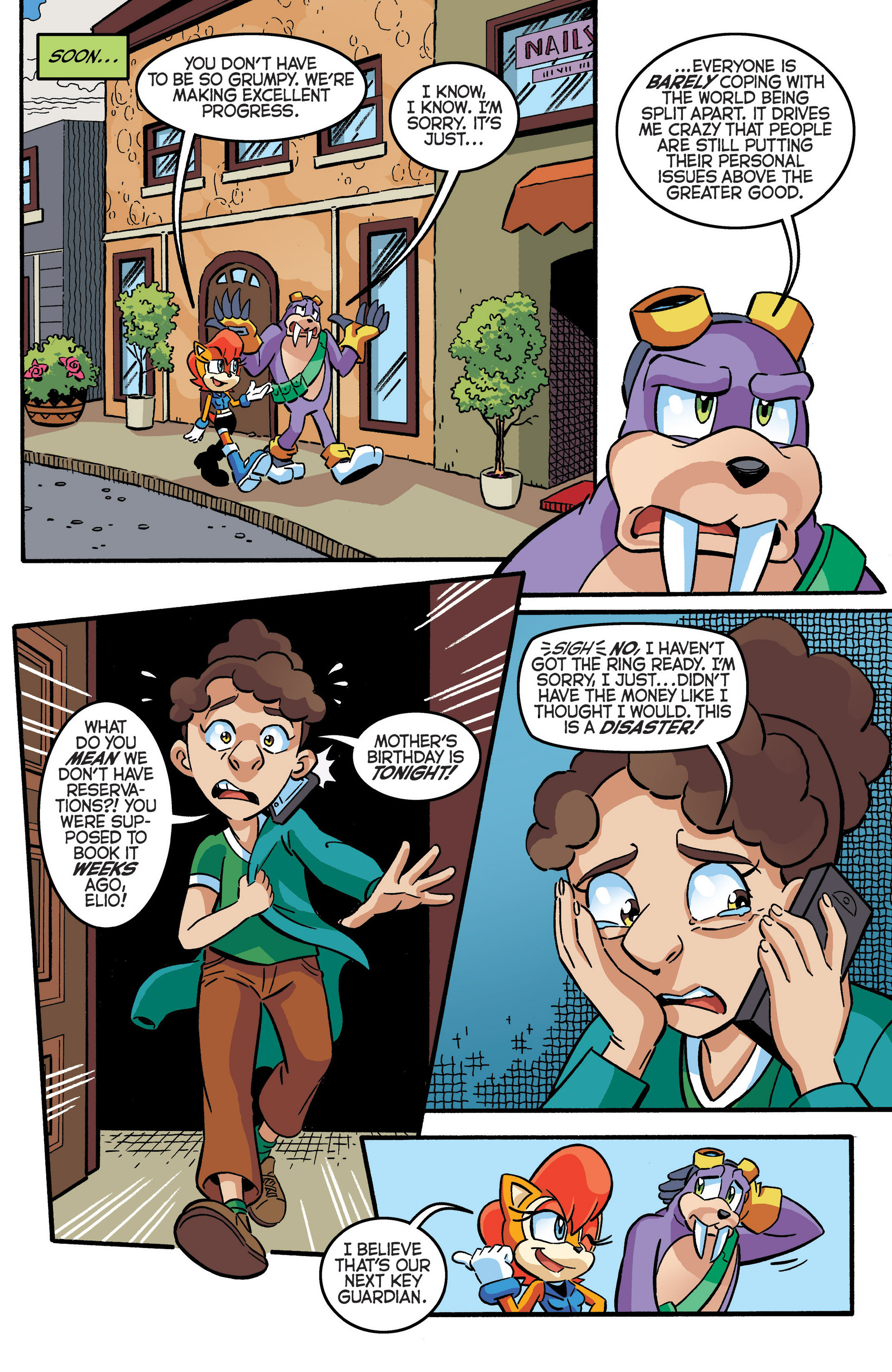 Read online Sonic The Hedgehog comic -  Issue #280 - 16