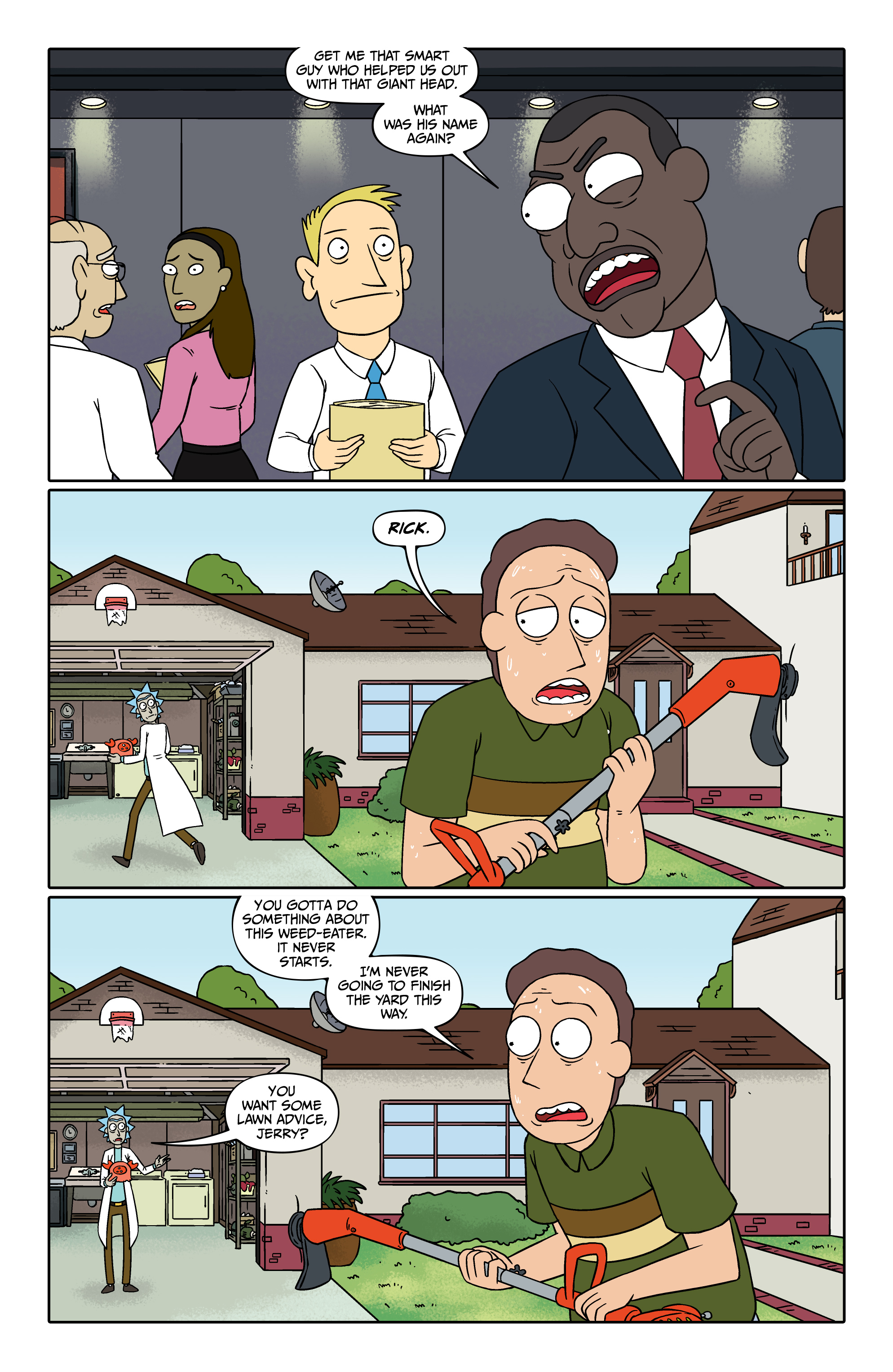 Read online Rick and Morty comic -  Issue #26 - 4
