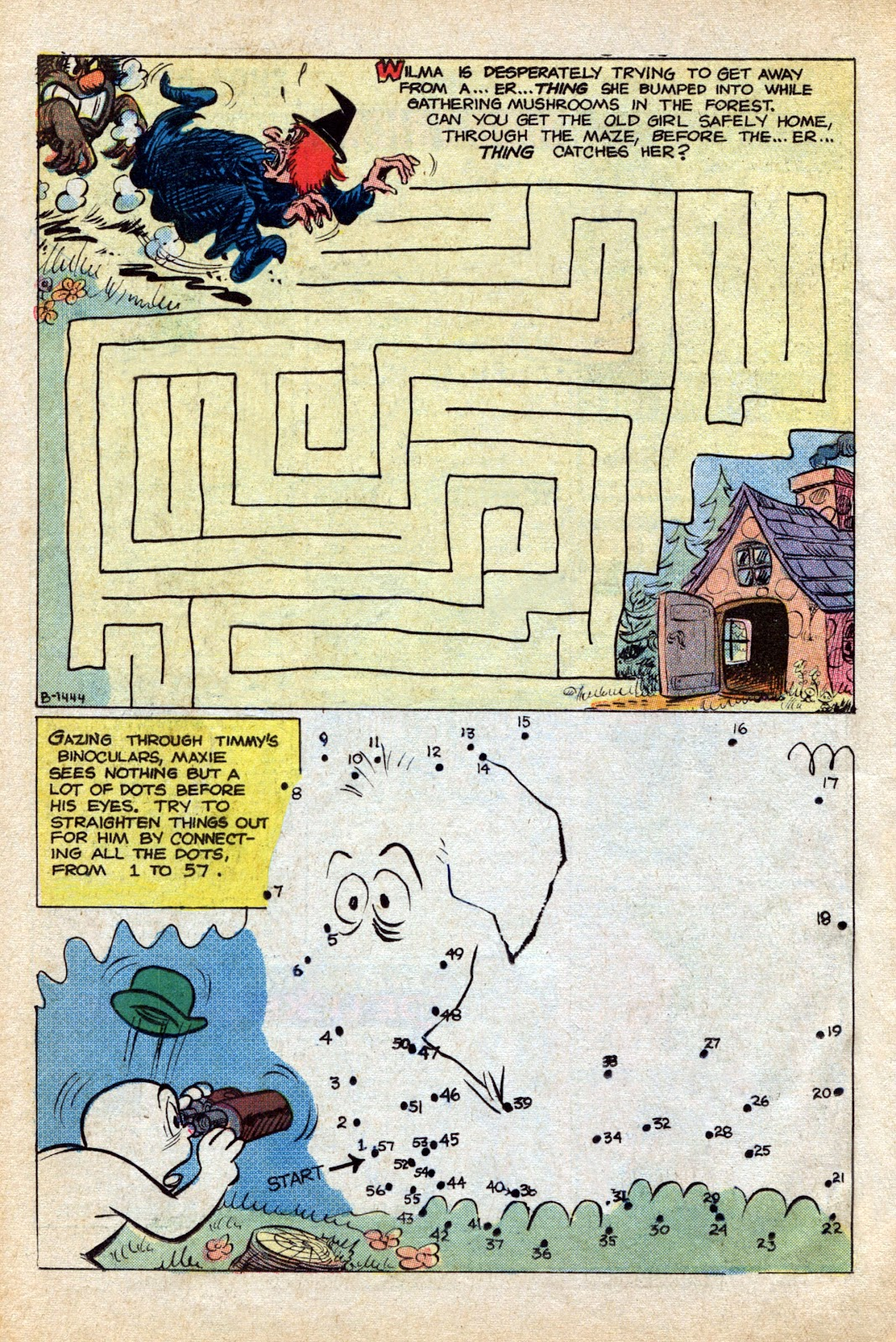 Read online Timmy the Timid Ghost comic -  Issue #4 - 22