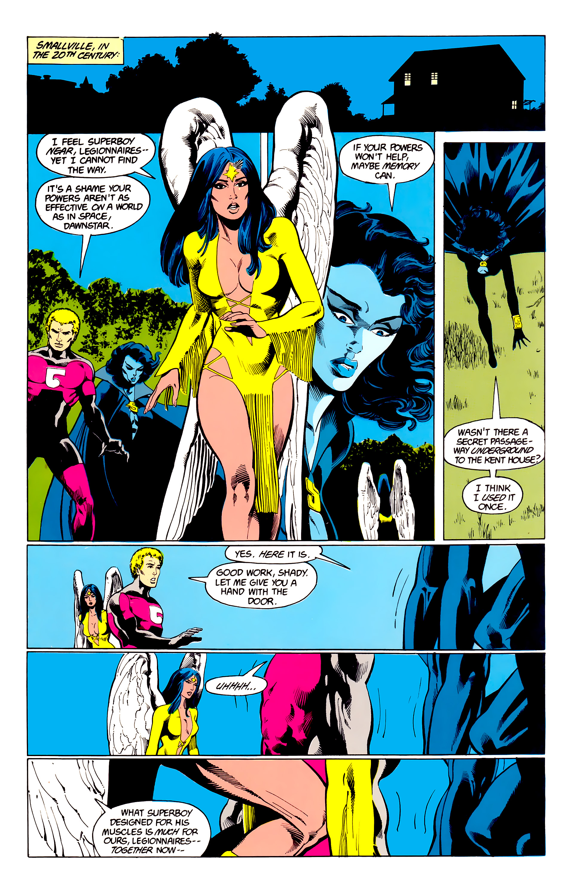 Legion of Super-Heroes (1984) 23 Page 21