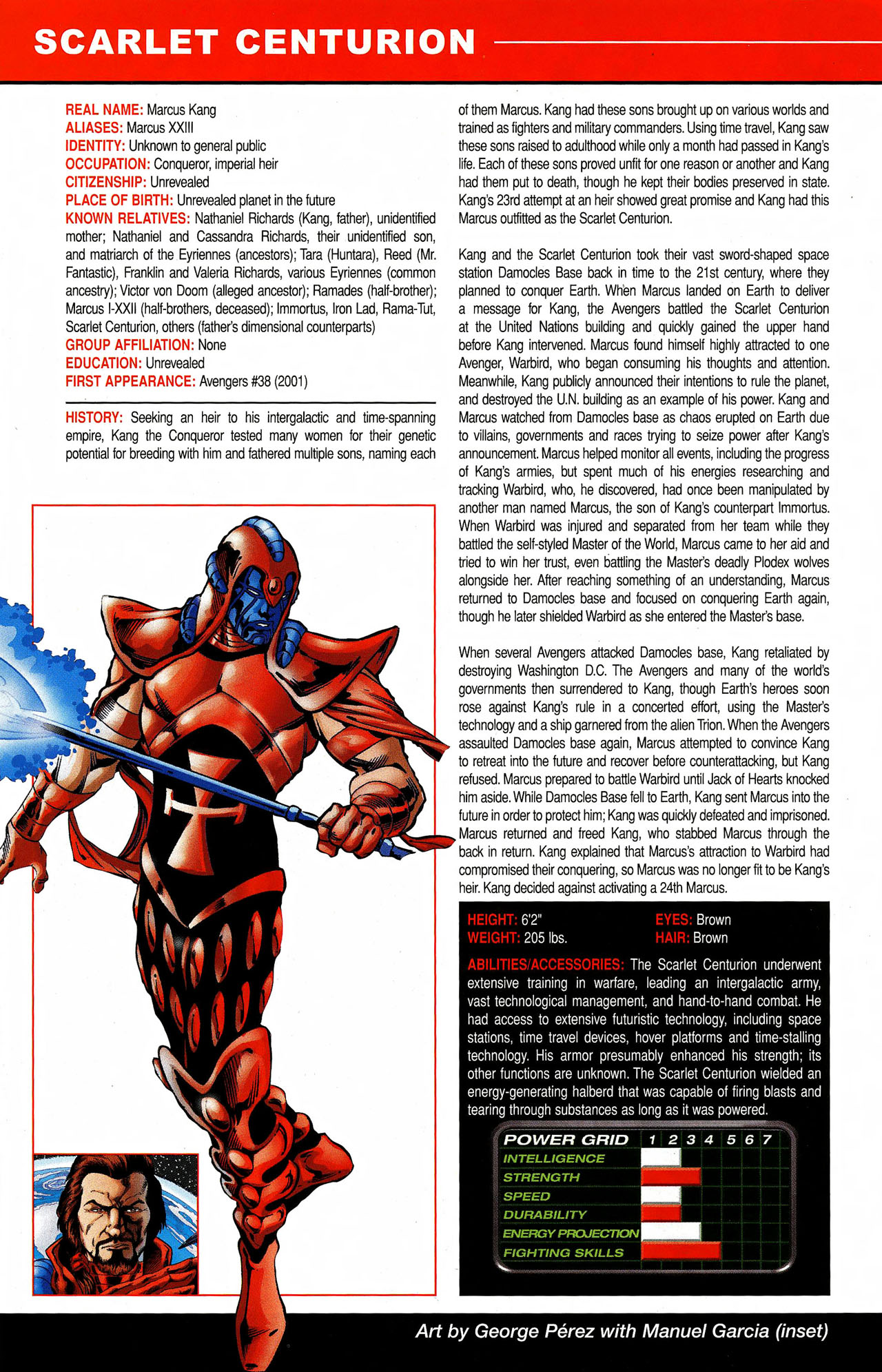 Read online All-New Official Handbook of the Marvel Universe A to Z comic -  Issue #9 - 48